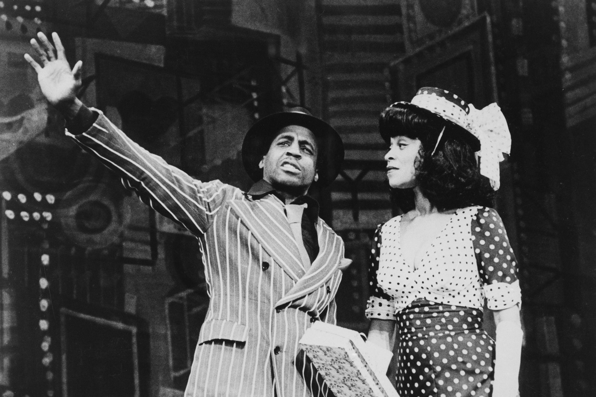 Robert Guillaume in Guys and Dolls