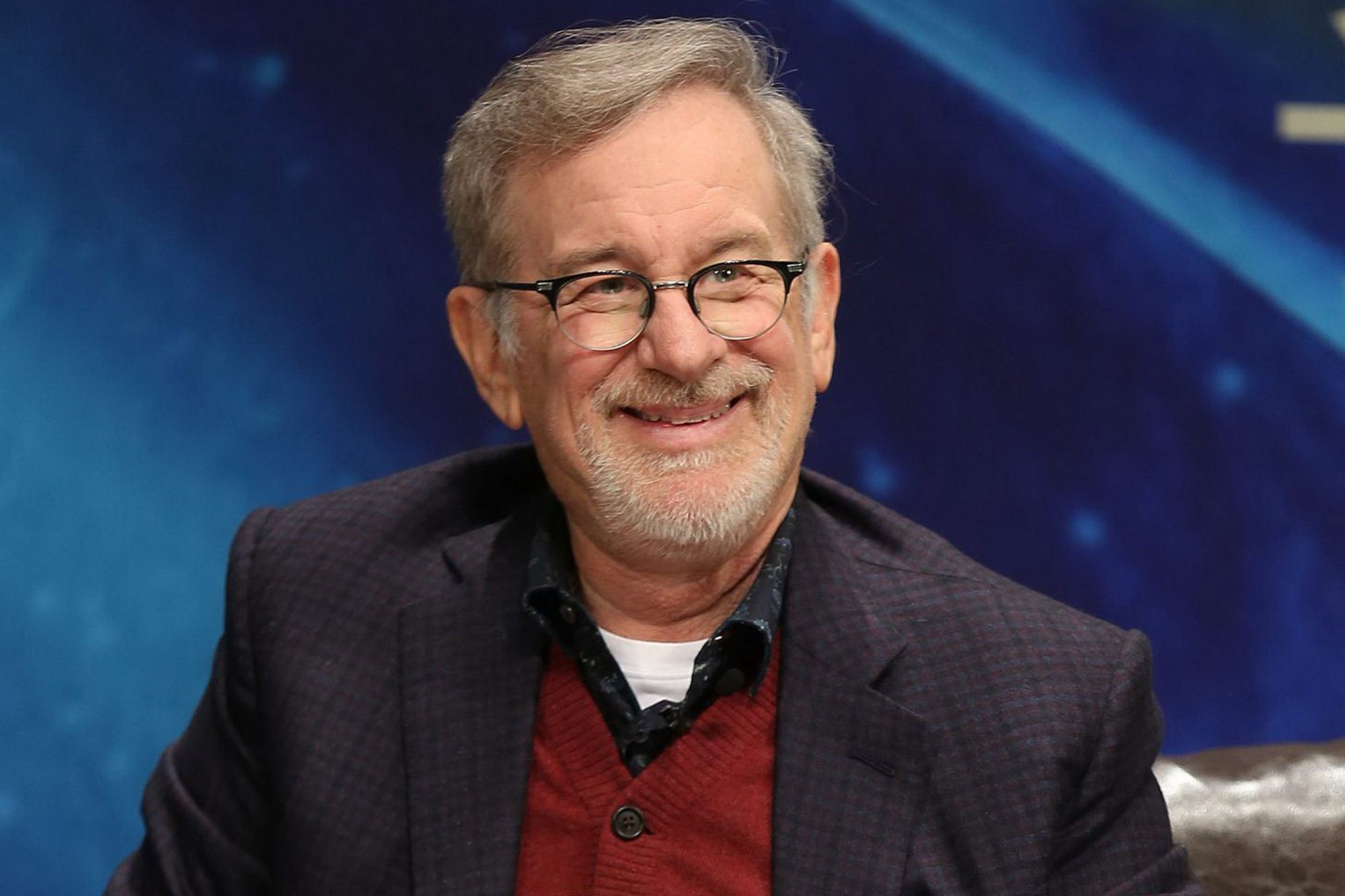 Steven Spielberg Attends Promotional Event For Film In Beijing