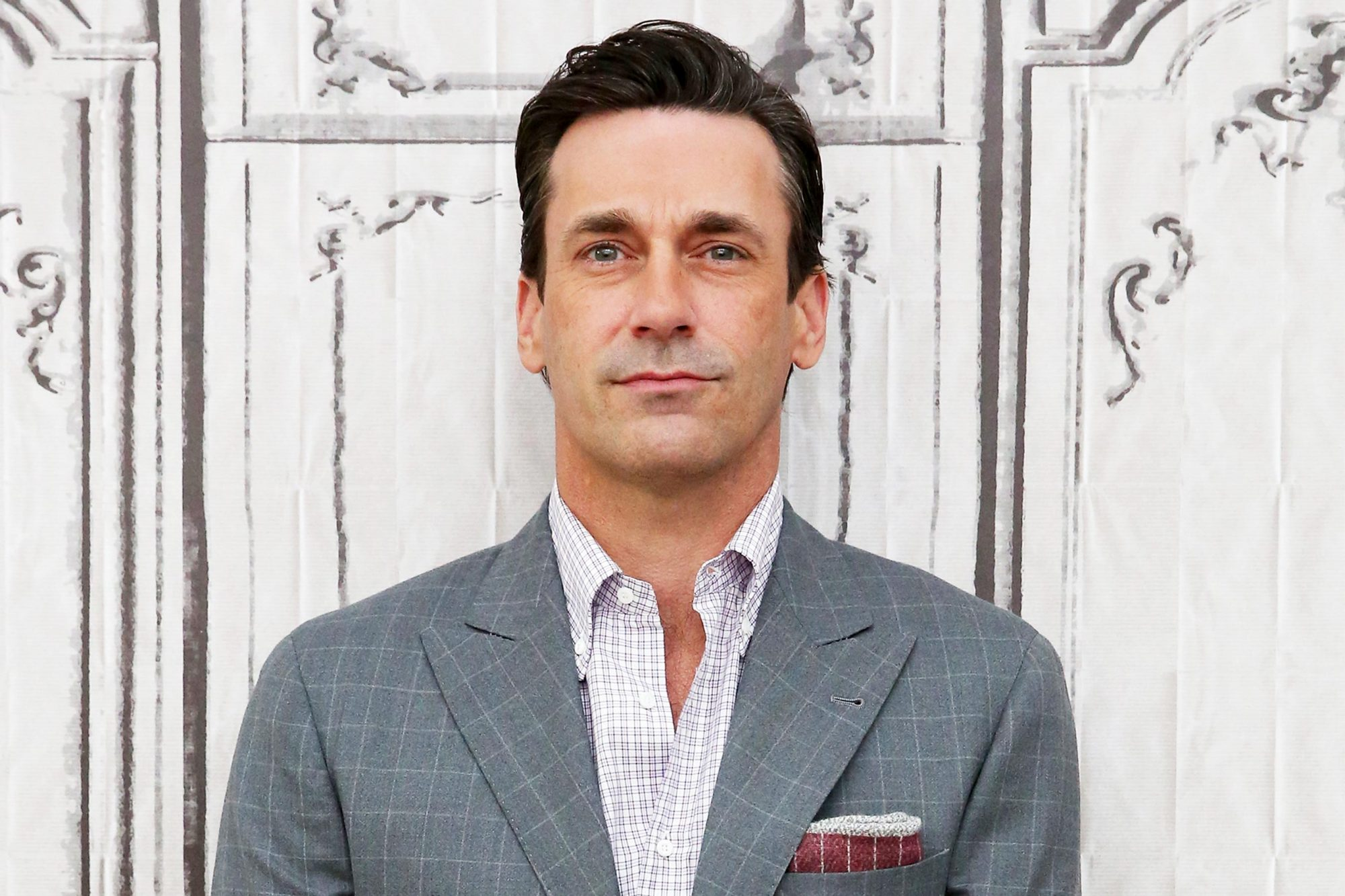 """The Build Series Presents Jon Hamm Discussing The New Movie """"Keeping Up With The Joneses"""""""