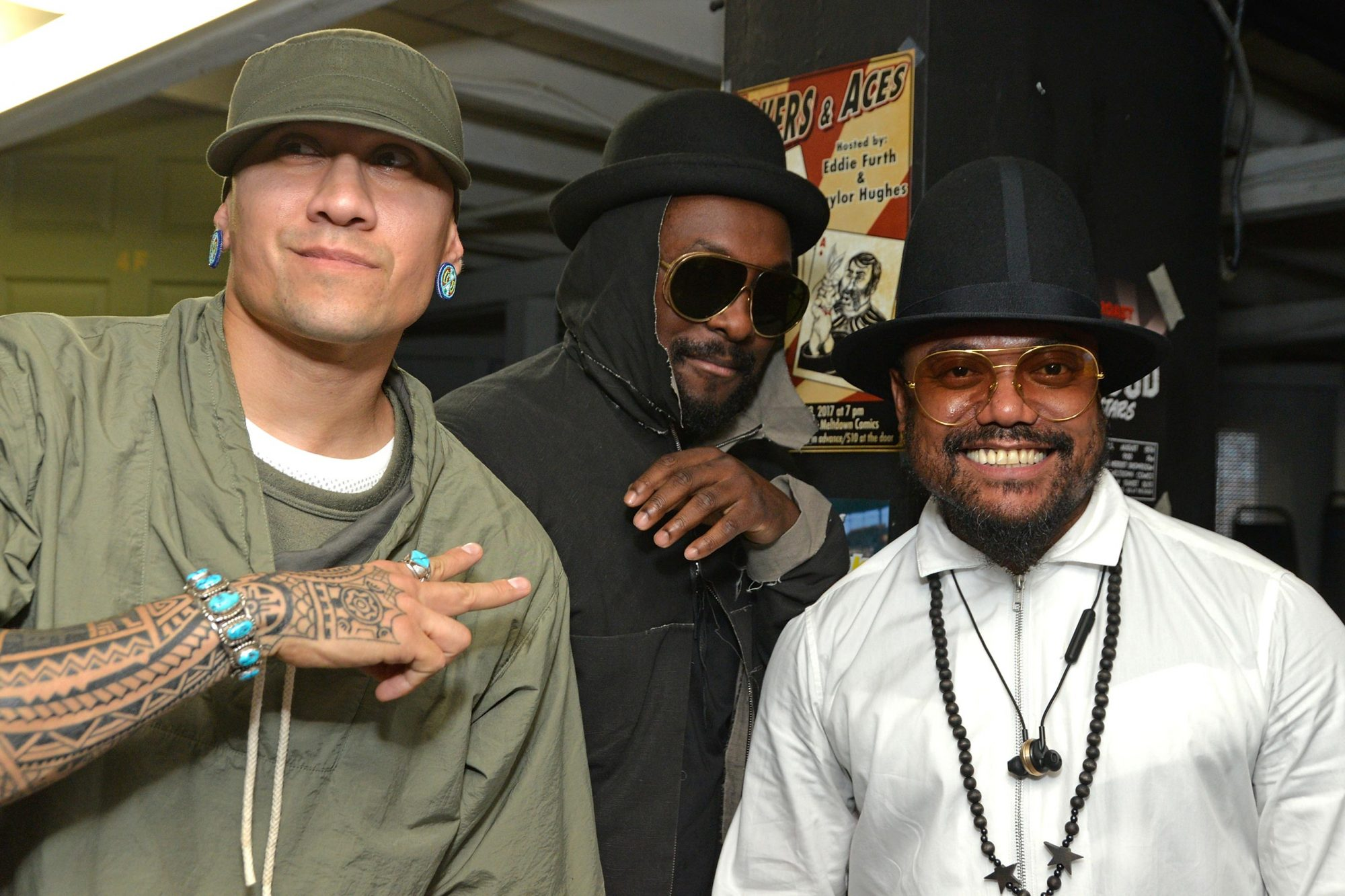 """Black Eyed Peas In-Store Signing For """"Masters Of The Sun"""""""