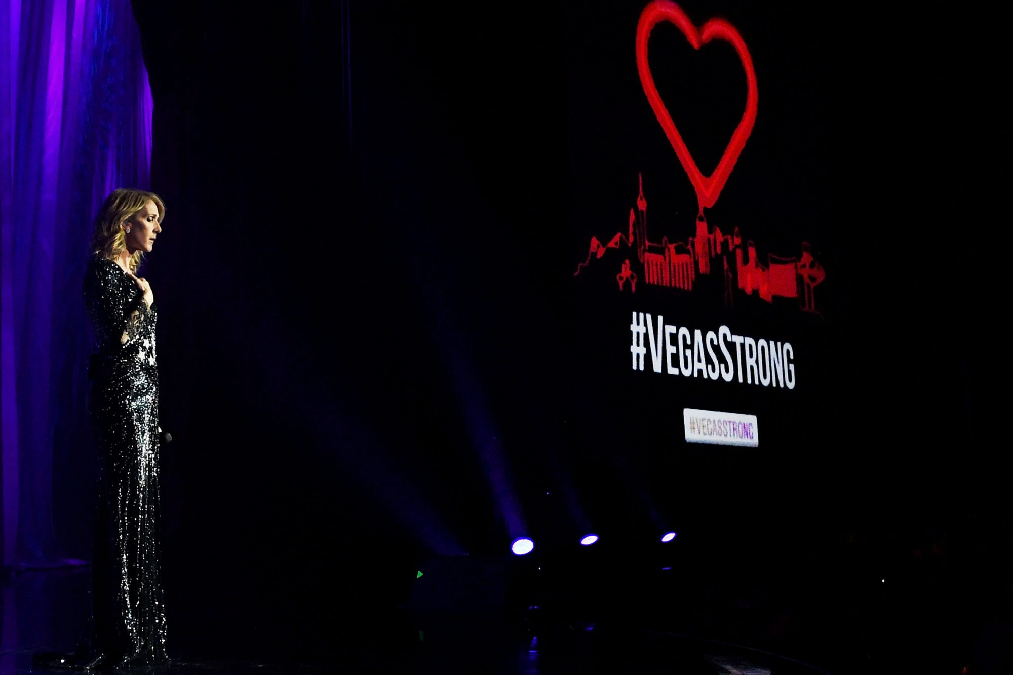 Celine Dion Pledges Proceeds From Tonight's Show At Caesars Palace To The Victims And Families Of Las Vegas Tragedy