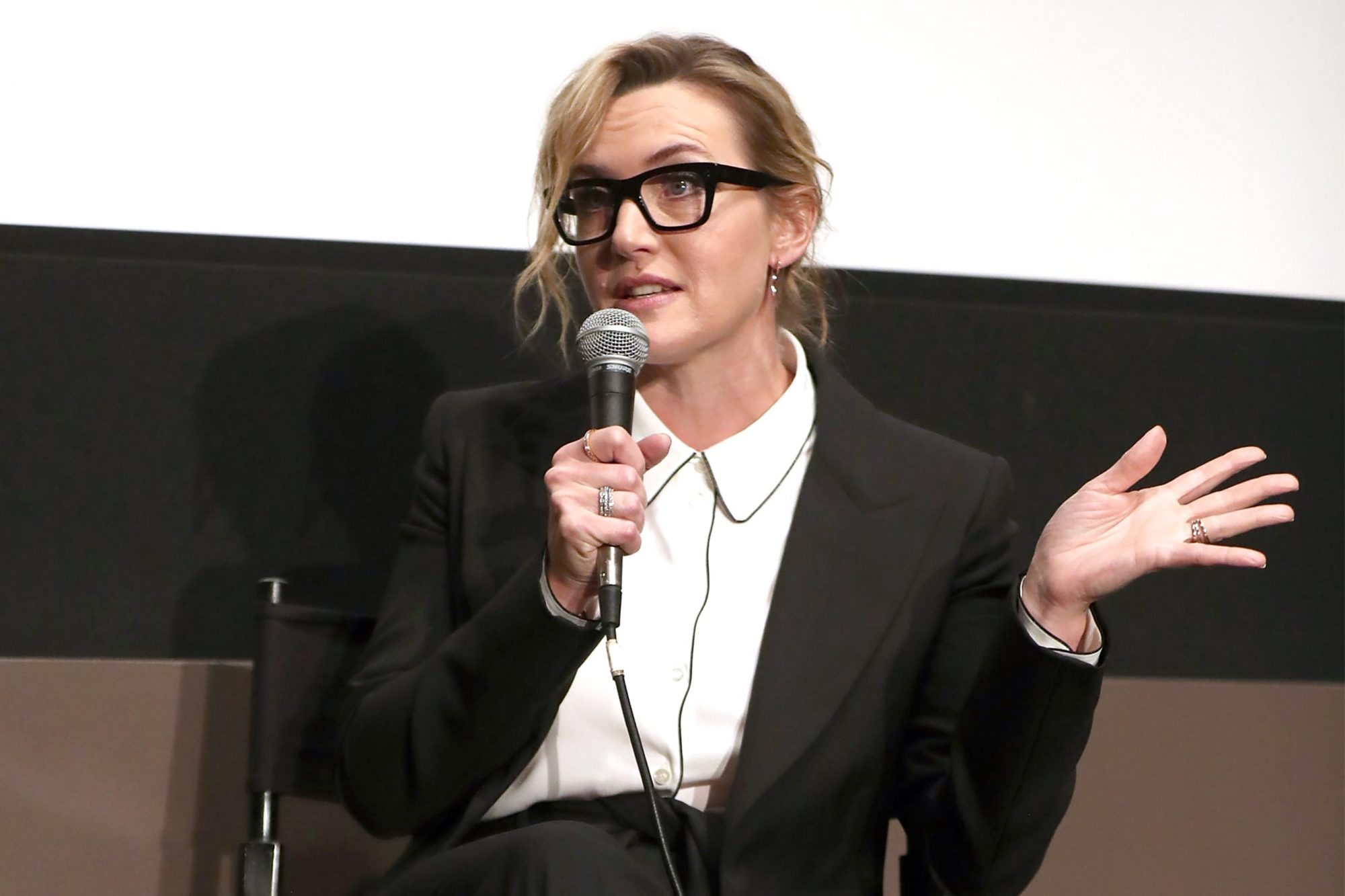"""NYFF's """"A Conversation With Kate Winslet"""""""