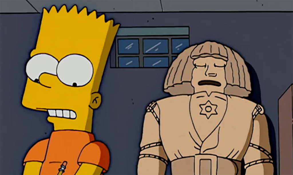 You've Got to Know When to Golem Treehouse of Horror XVII  (2006)Selected by: Tim Long