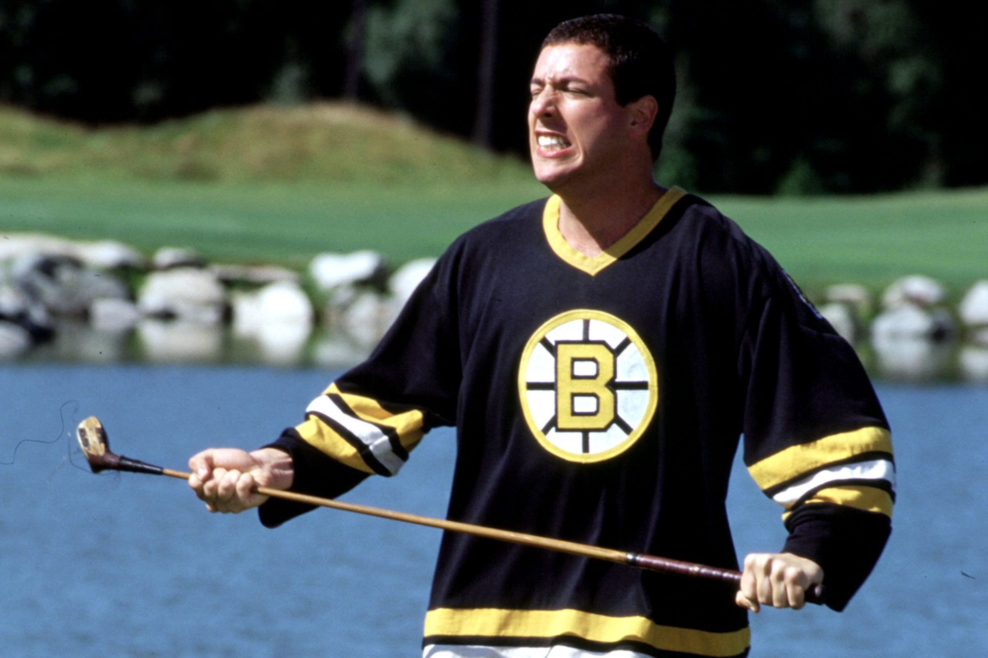 HAPPY GILMORE, Adam Sandler, 1996, (c) Universal/courtesy Everett Collection