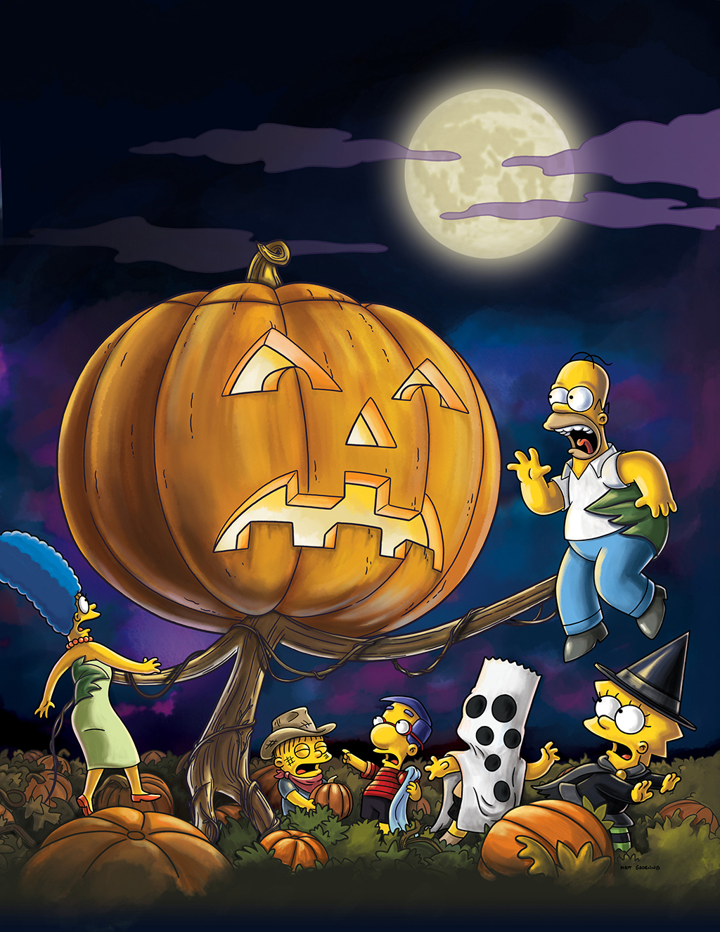 It's the Grand Pumpkin, Milhouse Treehouse of Horror XIX  (2008)Selected by: Al Jean