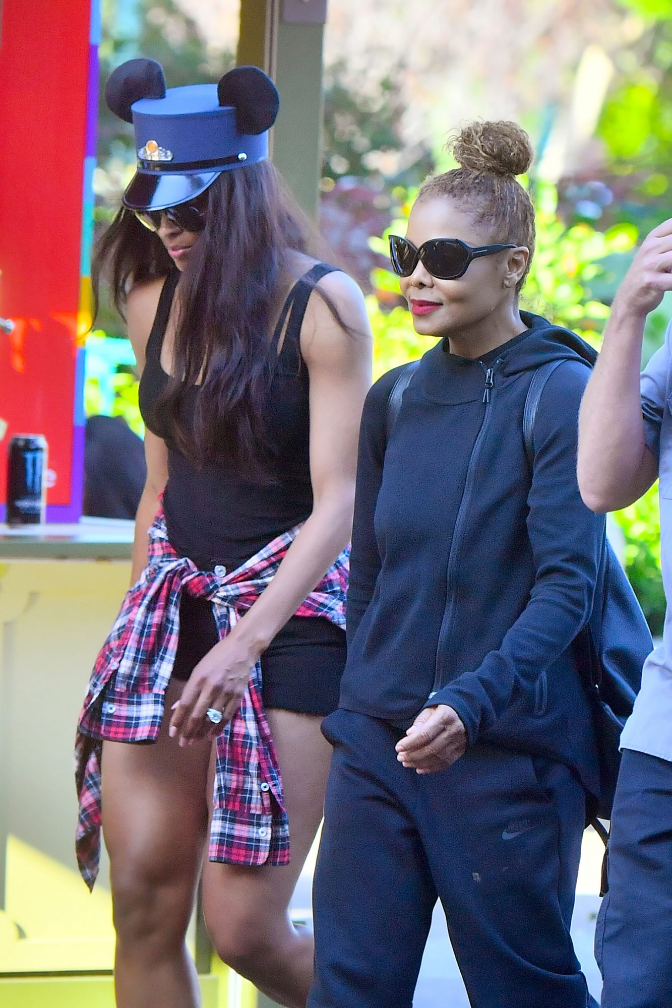 EXCLUSIVE: Janet Jackson and Ciara enjoy themselves with a fun day at the happiest place on earth, Disneyland