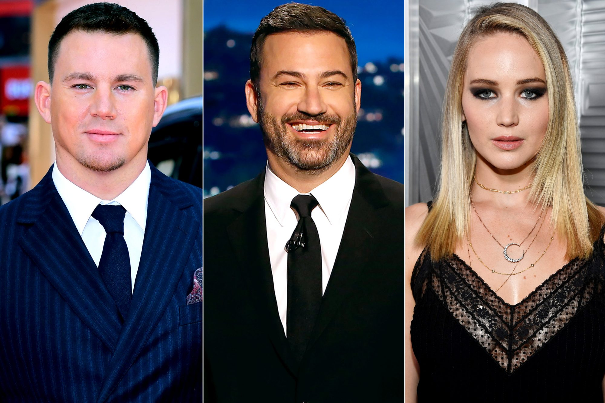 Channing Tatum / Jimmy Kimmel / Jennifer Lawrence