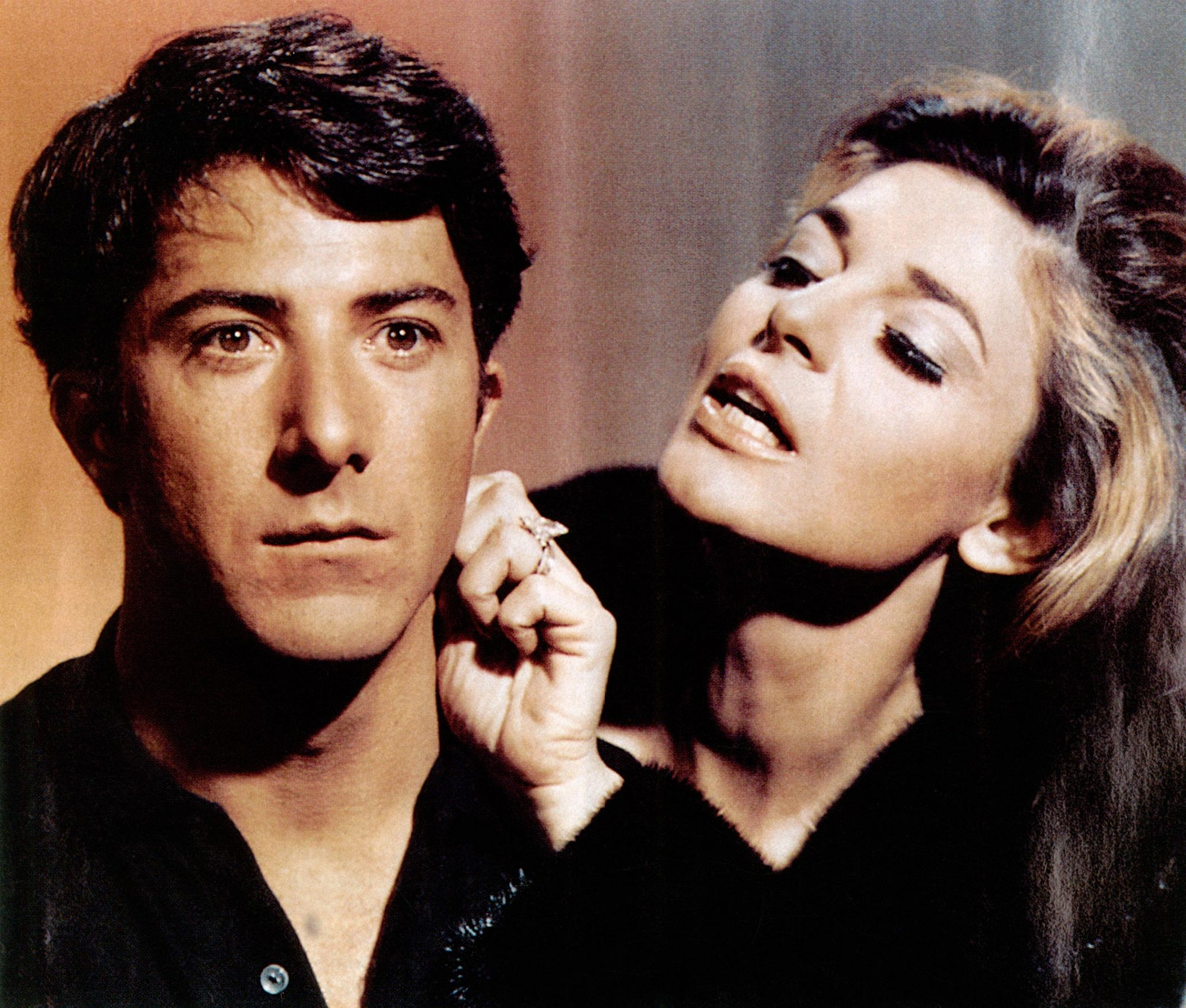 THE GRADUATE, from left, Dustin Hoffman, Anne Bancroft, 1967