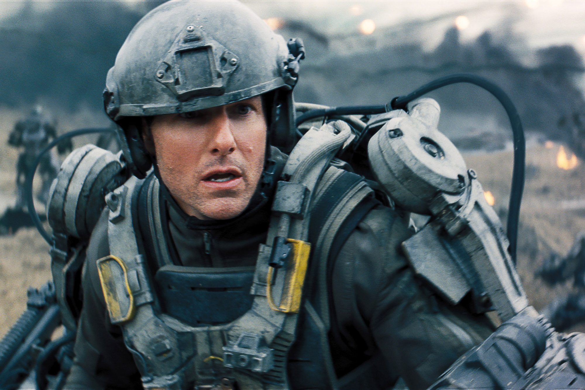 EDGE OF TOMORROW, Tom Cruise, 2014. ©Warner Bros. Pictures/courtesy Everett Collection