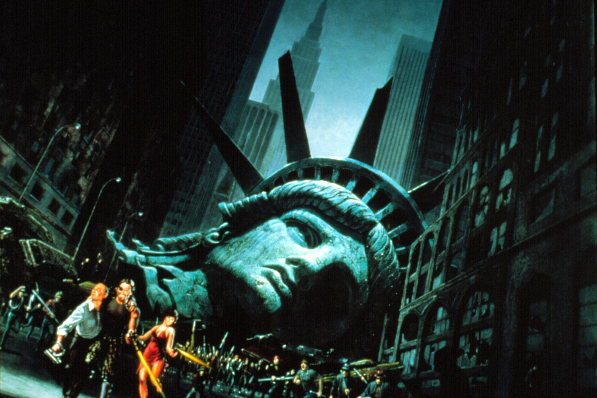 ESCAPE FROM NEW YORK, Kurt Russell, 1981