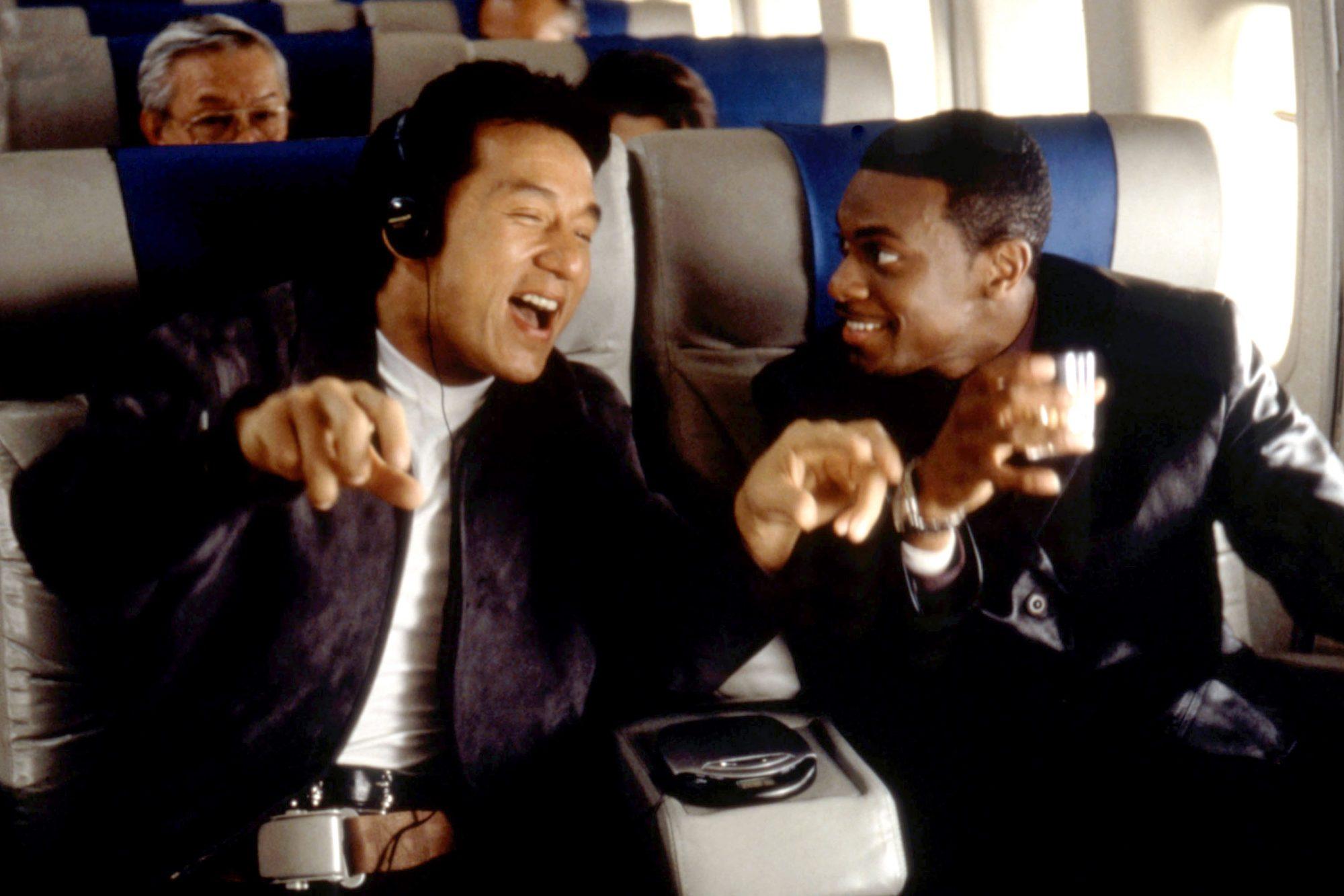 RUSH HOUR, Jackie Chan, Chris Tucker, 1998, (c)New Line Cinema/courtesy Everett Collection