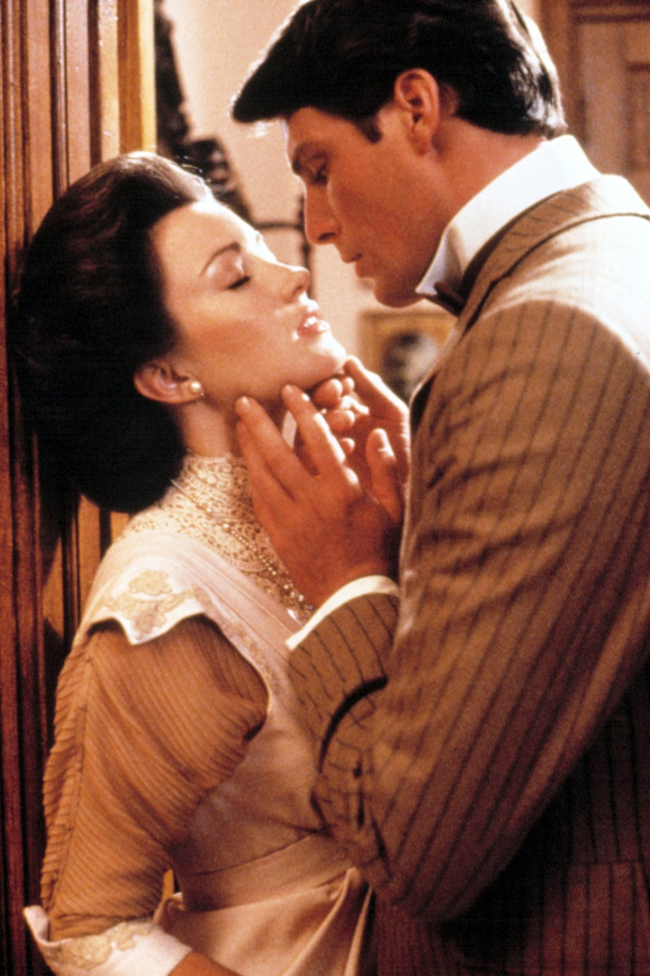 SOMEWHERE IN TIME, Jane Seymour, Christopher Reeve, 1980.
