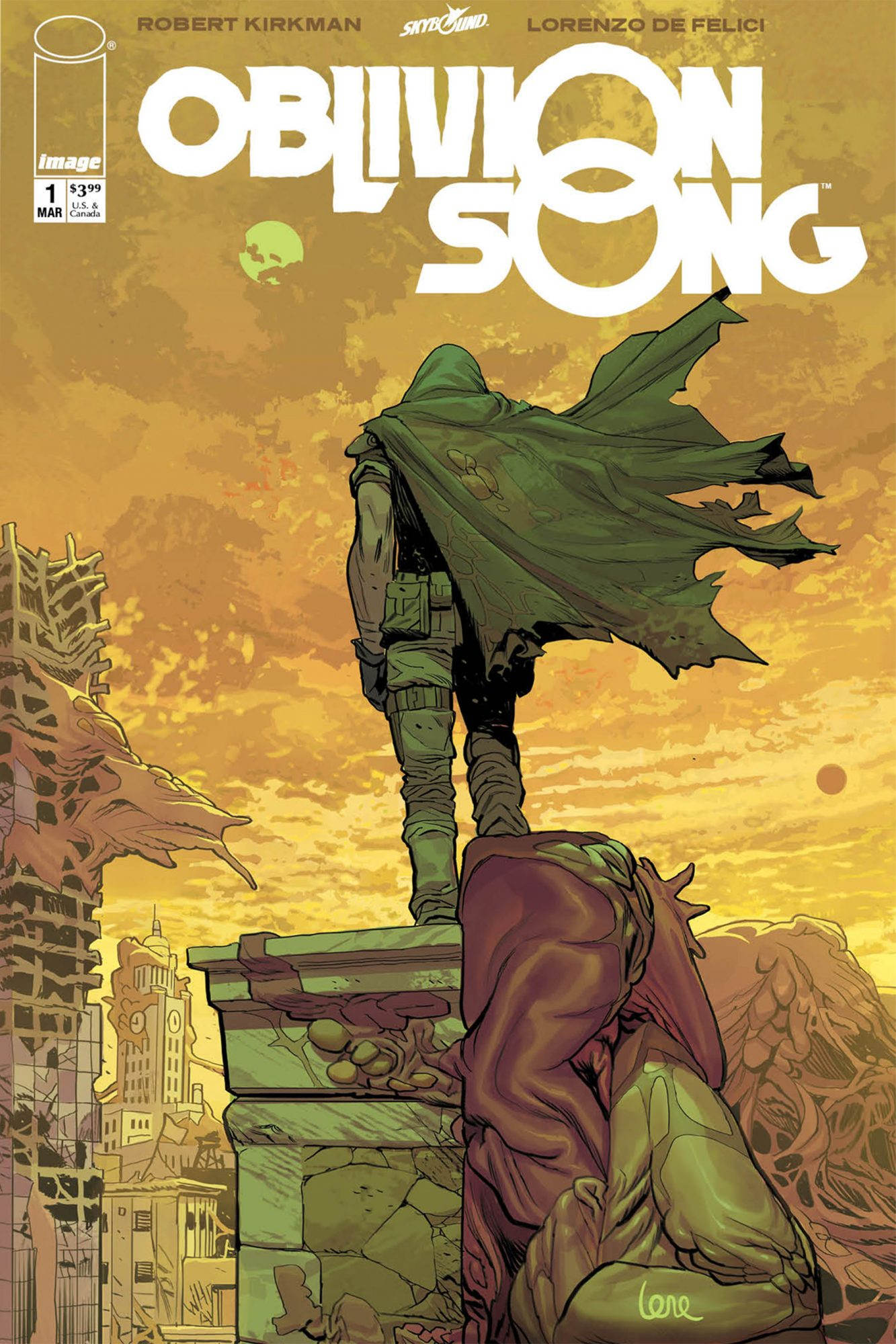 Oblivion Song #1 cover