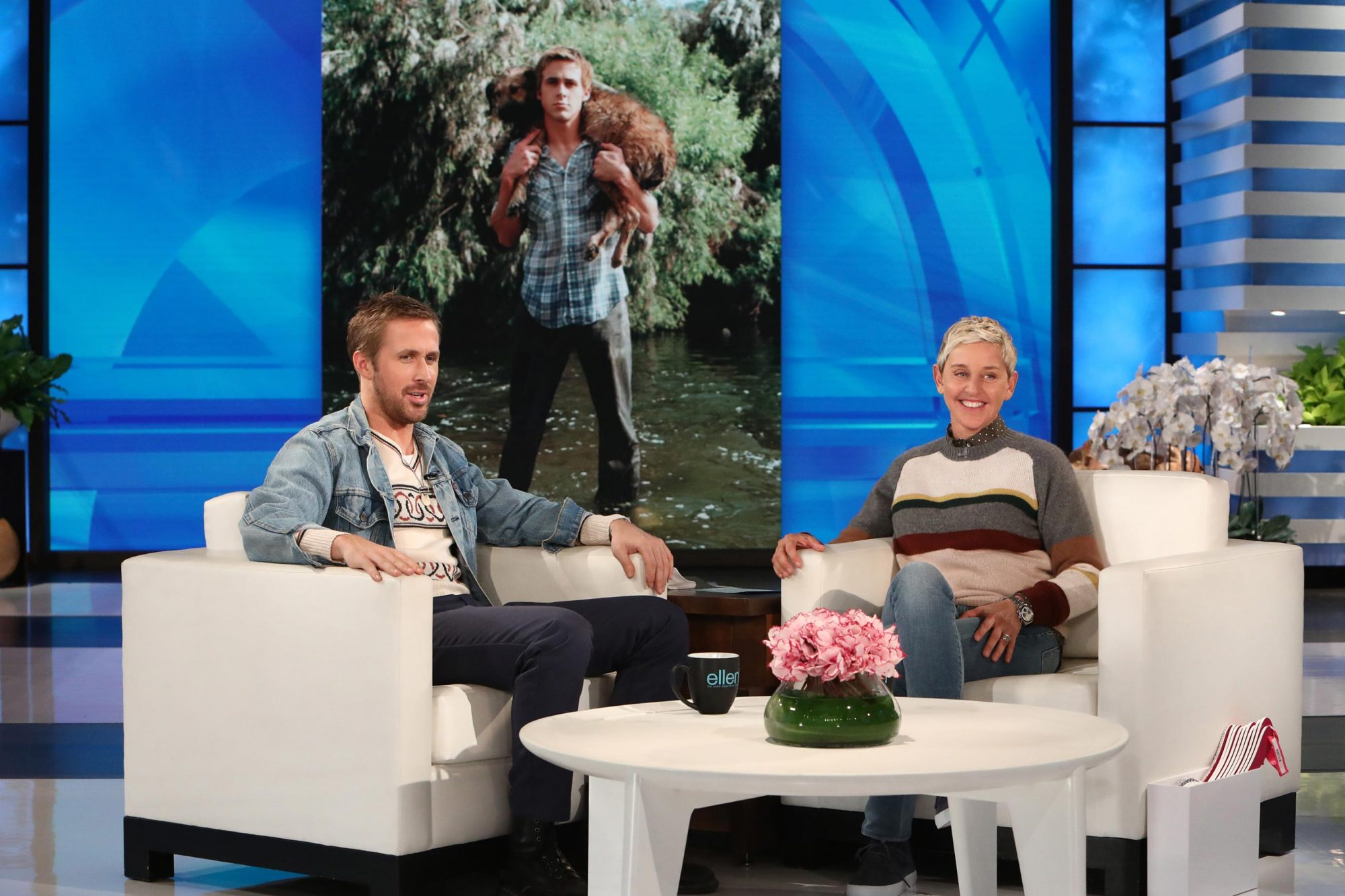 Ryan Gosling and his dog, George: A love story