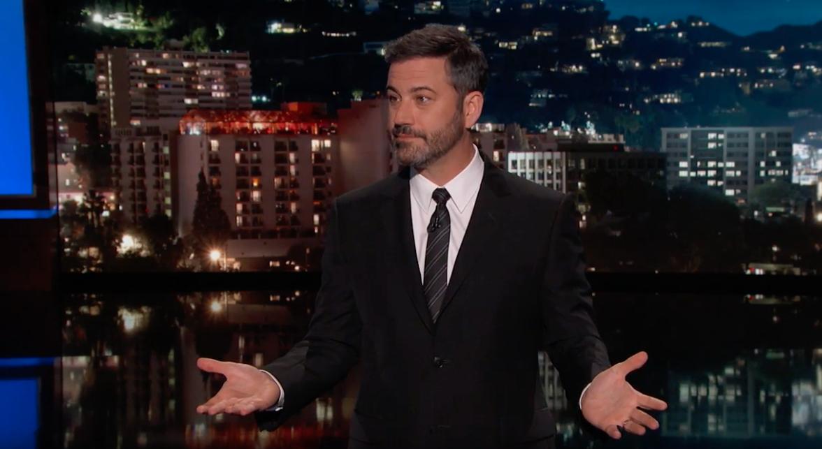 Jimmy Kimmel live screen grab