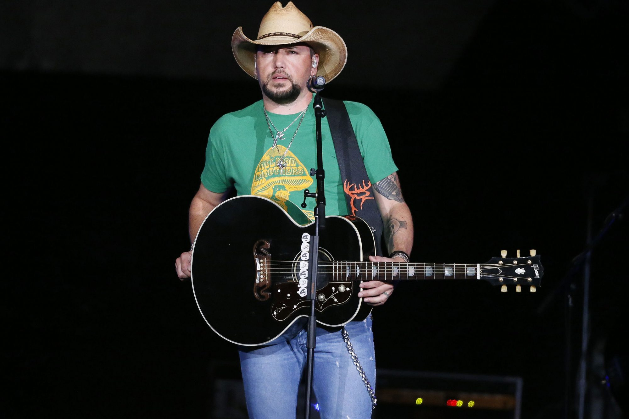 Las Vegas Shooting Aldean, Tulsa, USA - 12 Oct 2017