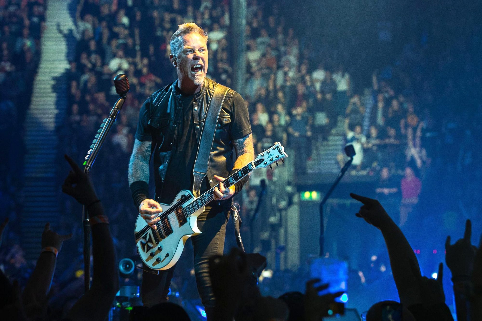 Metallica in concert at the Manchester Arena, UK - 28 Oct 2017