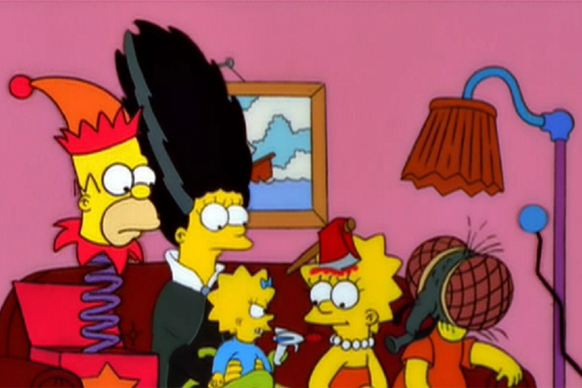 Bart's Nightmare (also known as The Bart Zone) Treehouse of Horror II (1991)Selected by: Dan Greaney