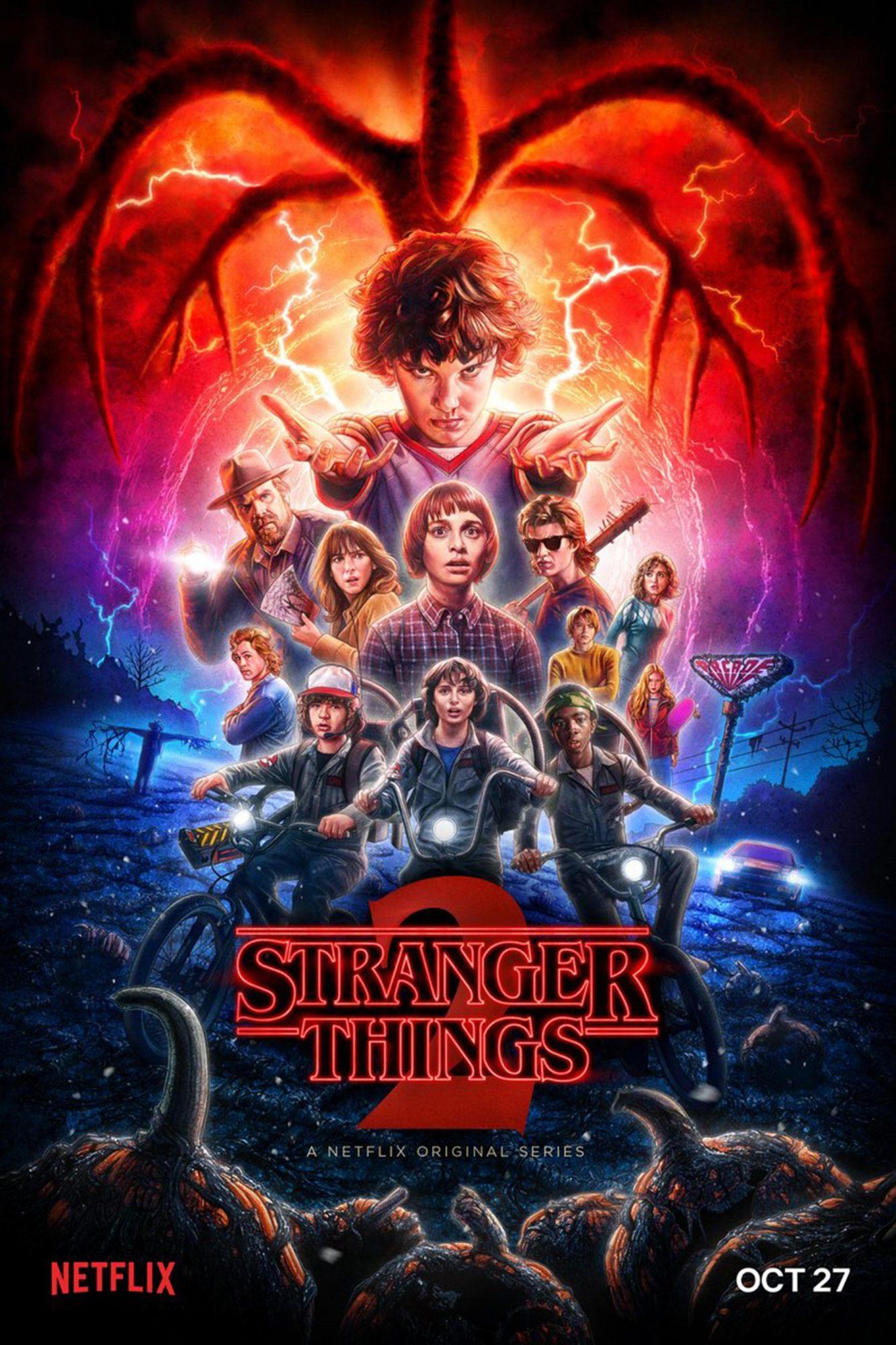 Stranger Things Season 2 poster CR: Netflix