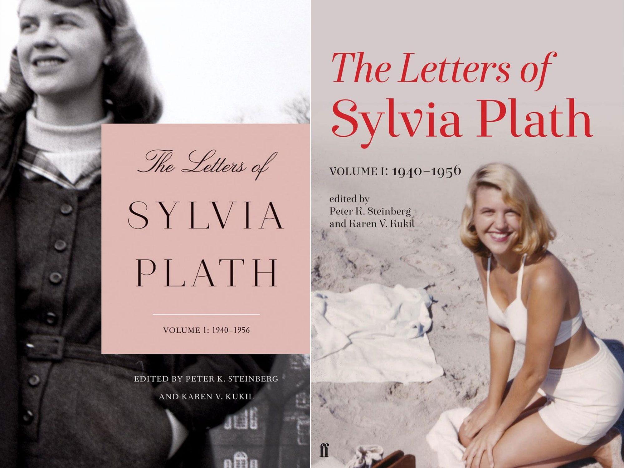 sylviaplathcovers