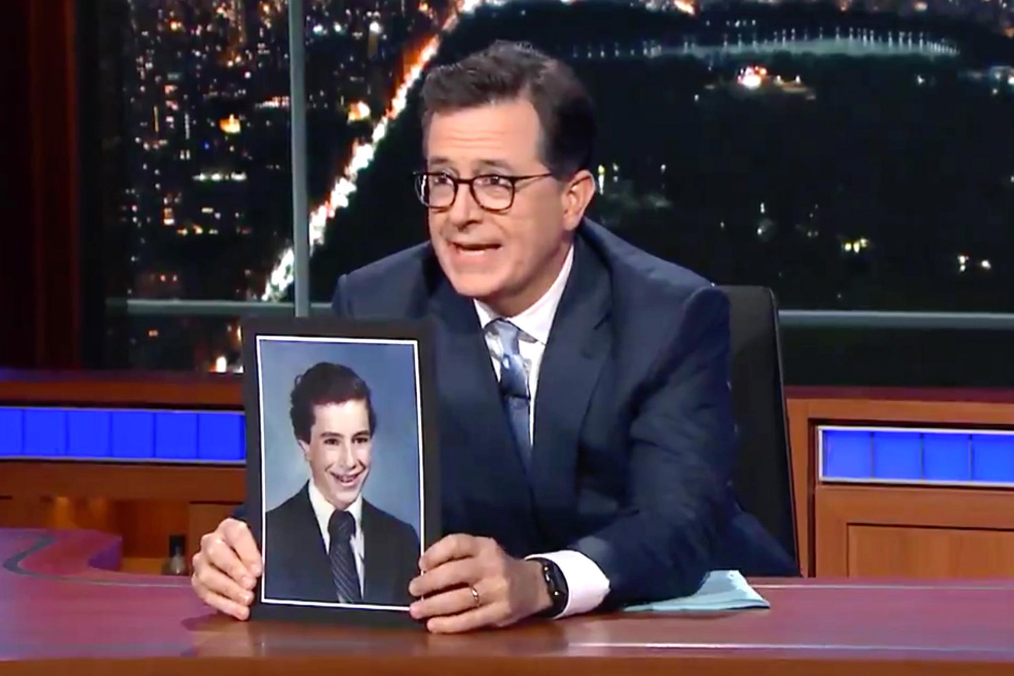 The Late Show with Stephen Colbert (screen grab) CR: CBS