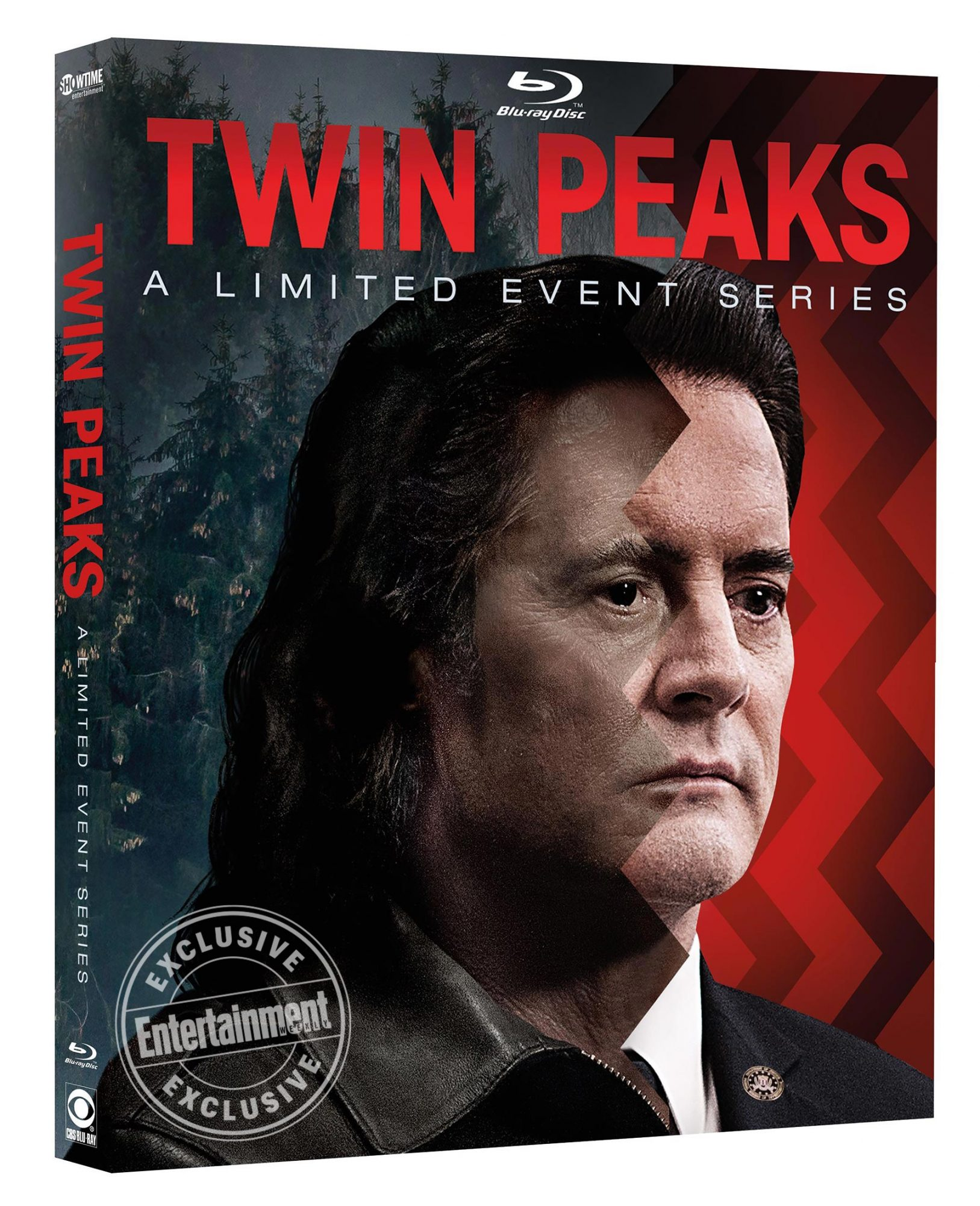 Twin Peaks (2017) Blu-ray / DVD Box art CR: Showtime