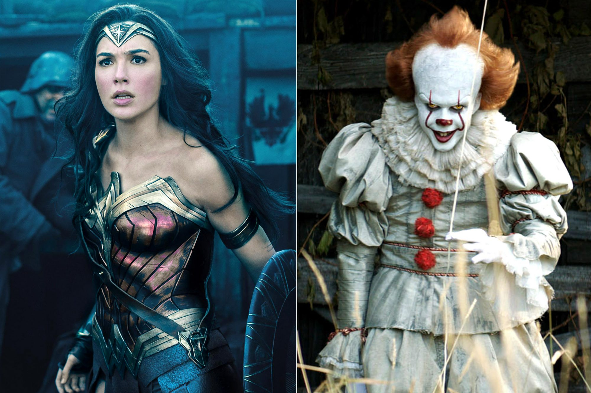 Wonder Woman / Pennywise
