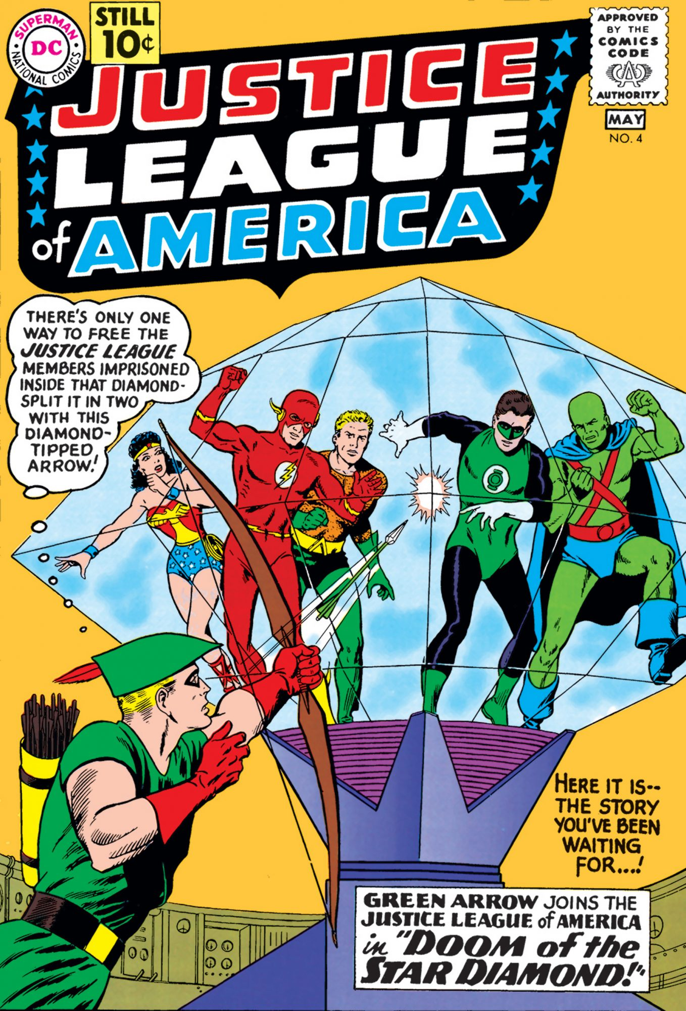 1961: GREEN ARROW JOINS