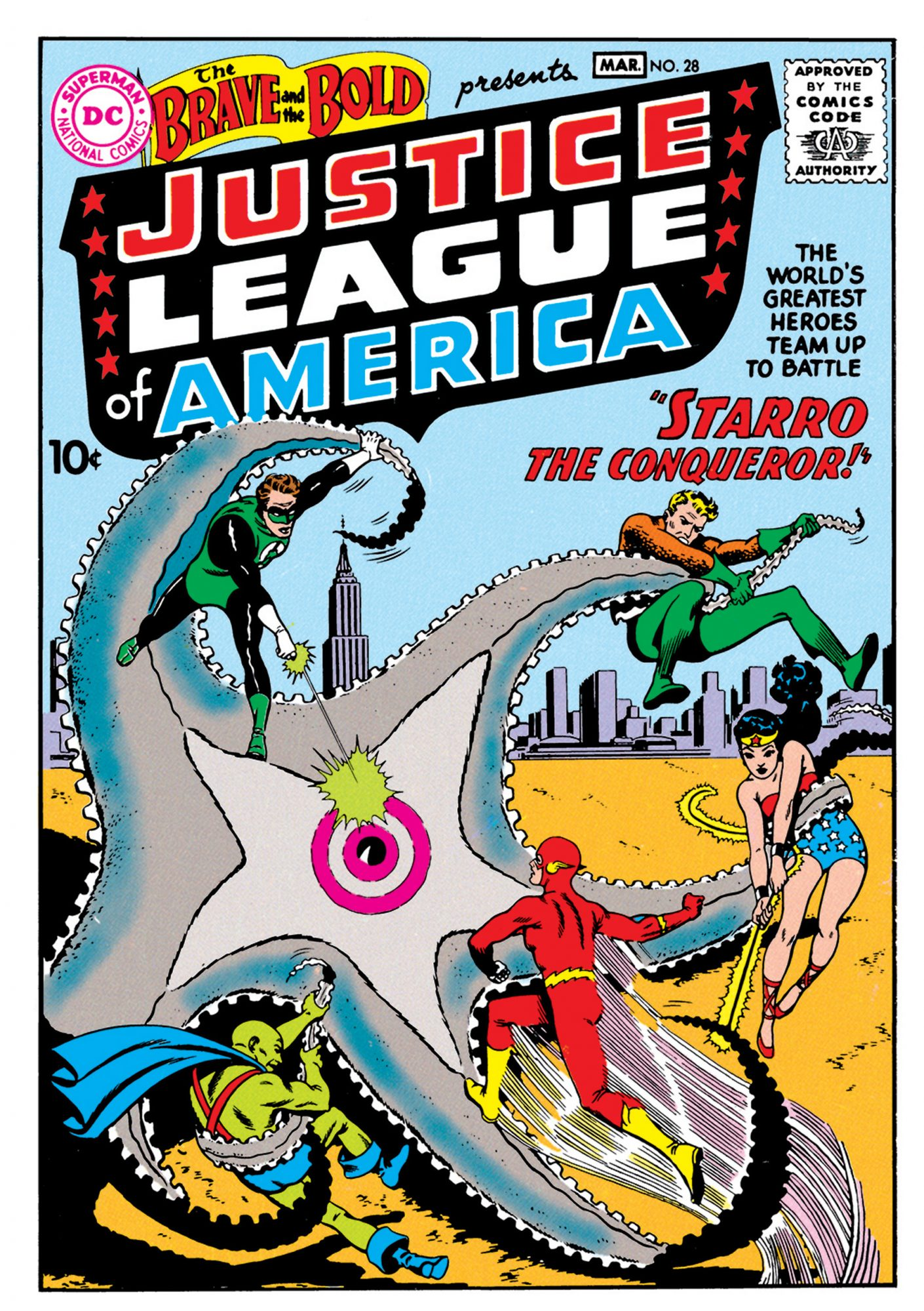 1960: FIRST APPEARANCE