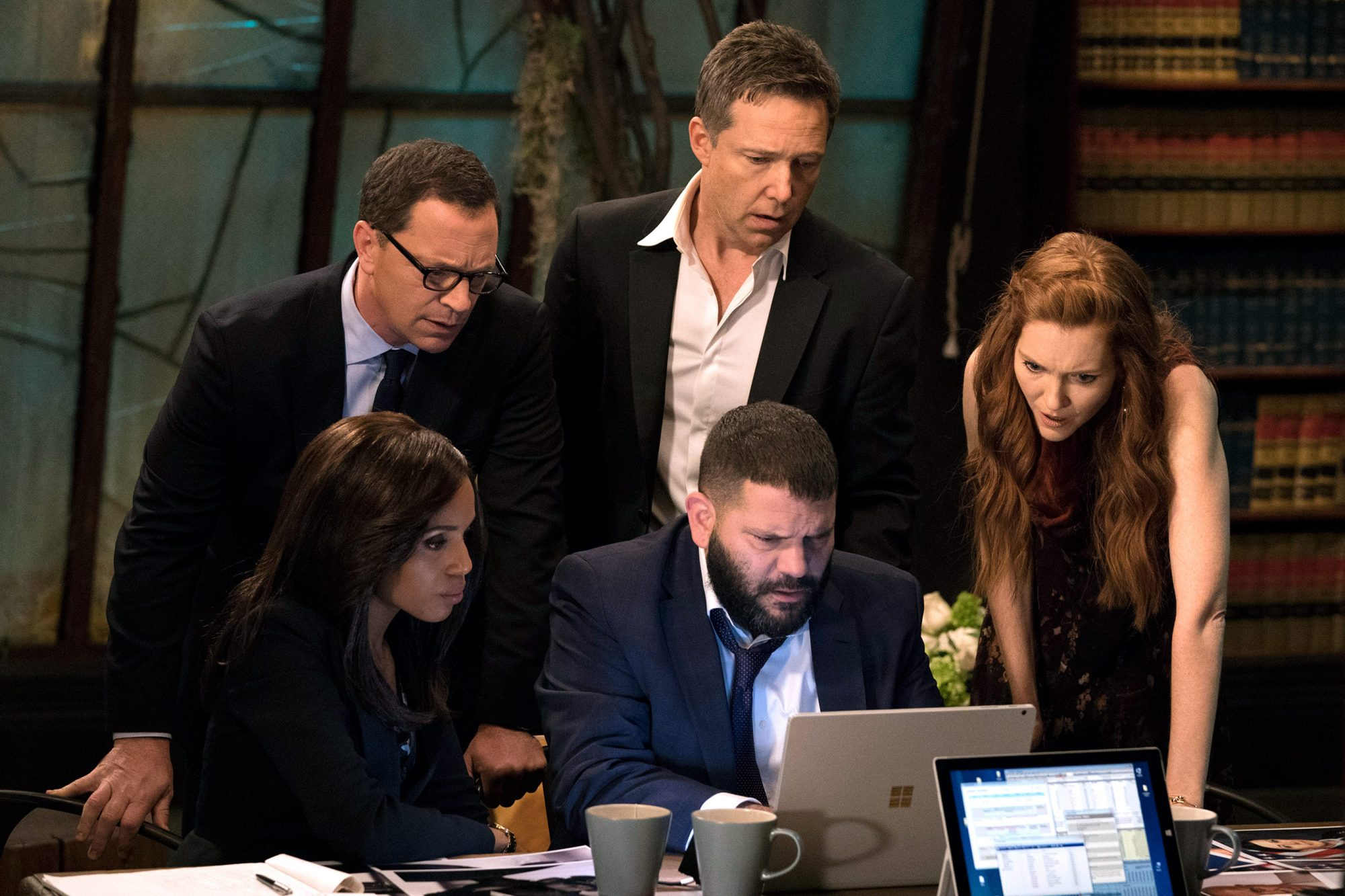 KERRY WASHINGTON, JOSHUA MALINA, GUILLERMO DIAZ, GEORGE NEWBERN, DARBY STANCHFIELD