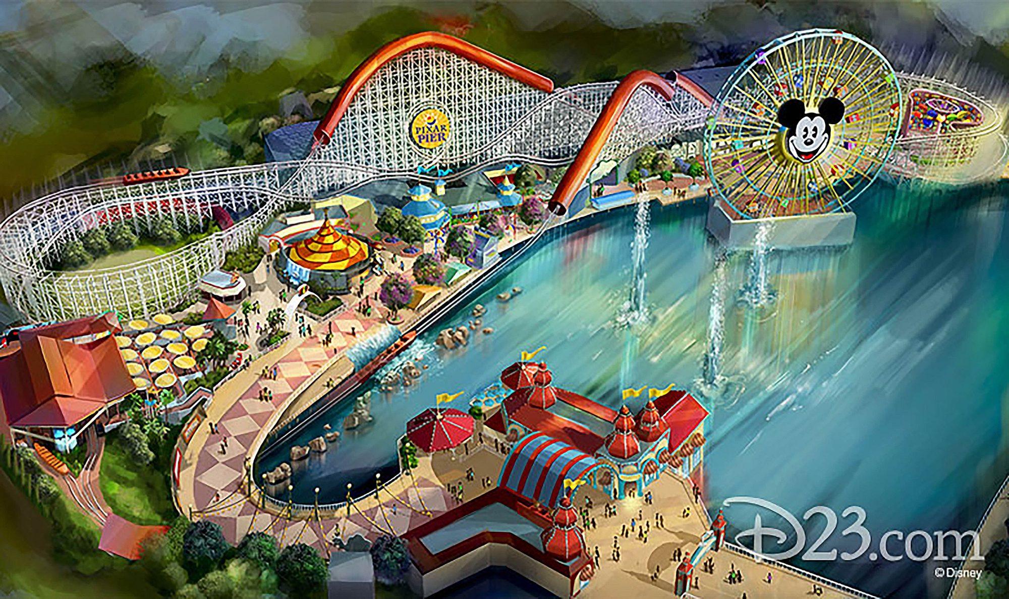 Disney's Pixar Pier