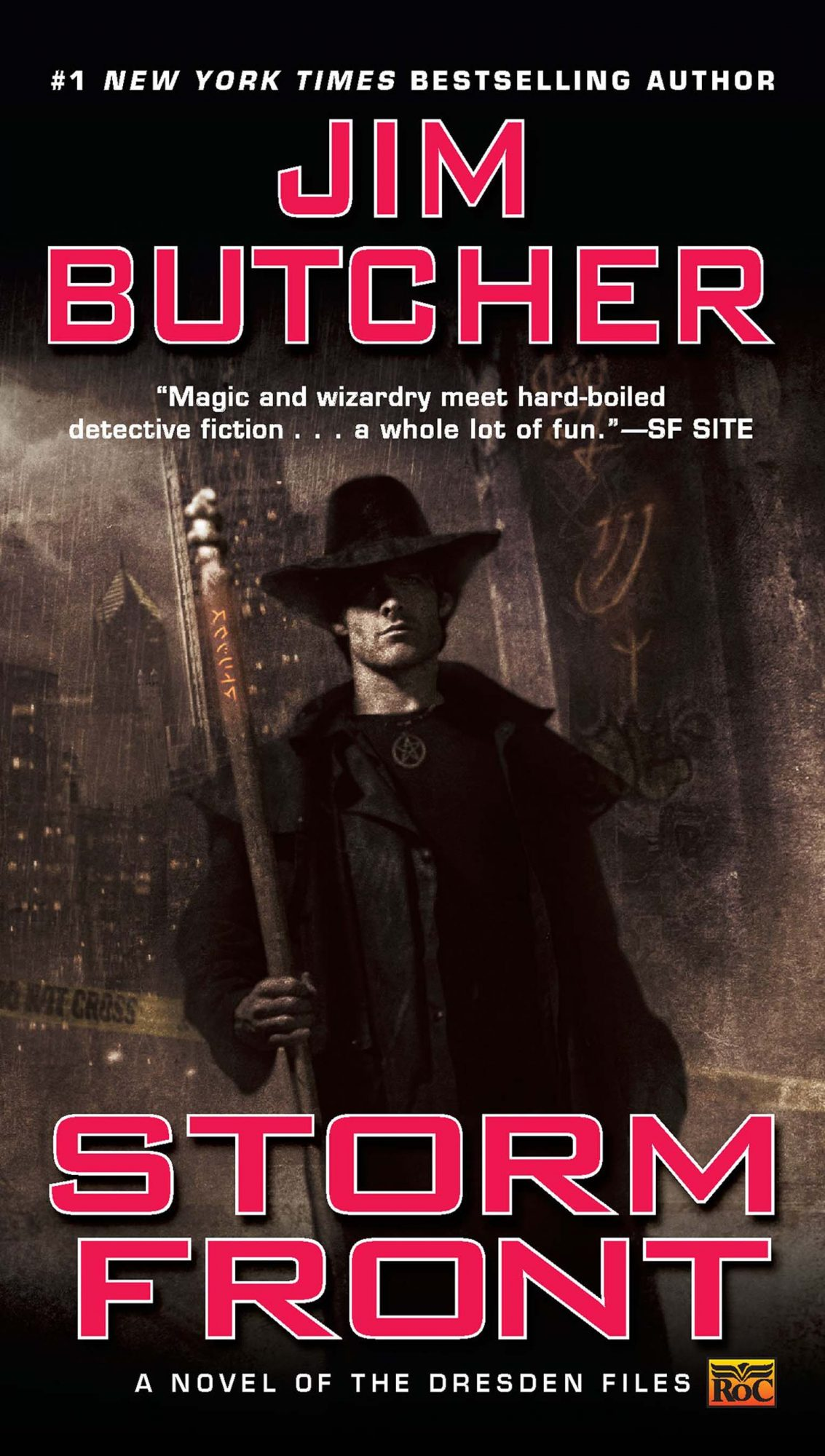 The Dresden Files by Jim Butcher (2000-2015)