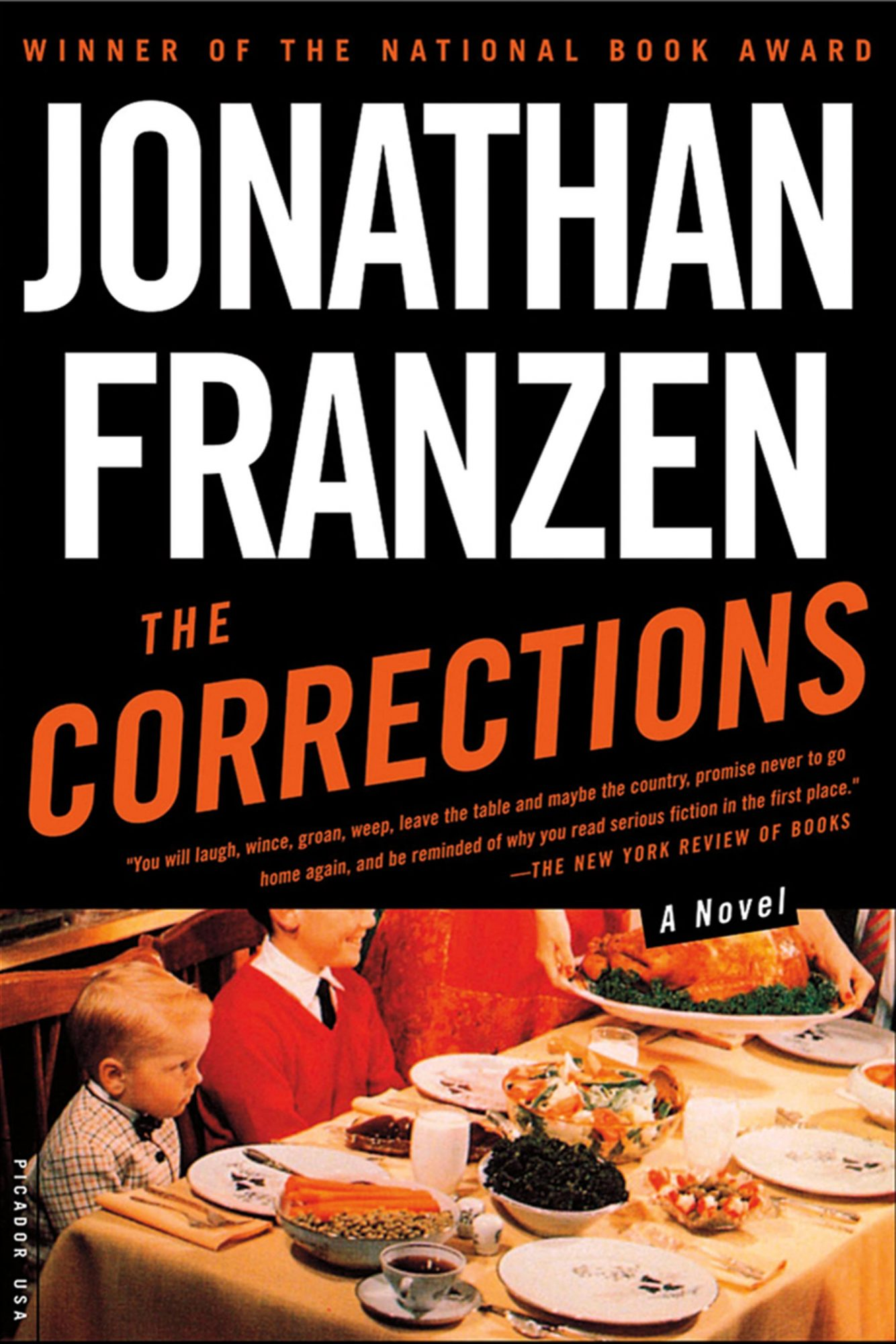 The Corrections  A Novel - paperback (8/27/2002)by Jonathan Franzen