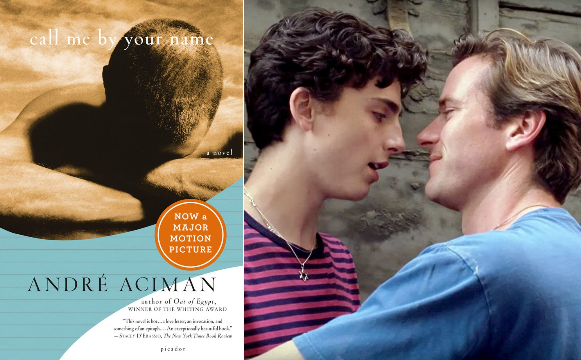 Call Me By Your Name book / movie