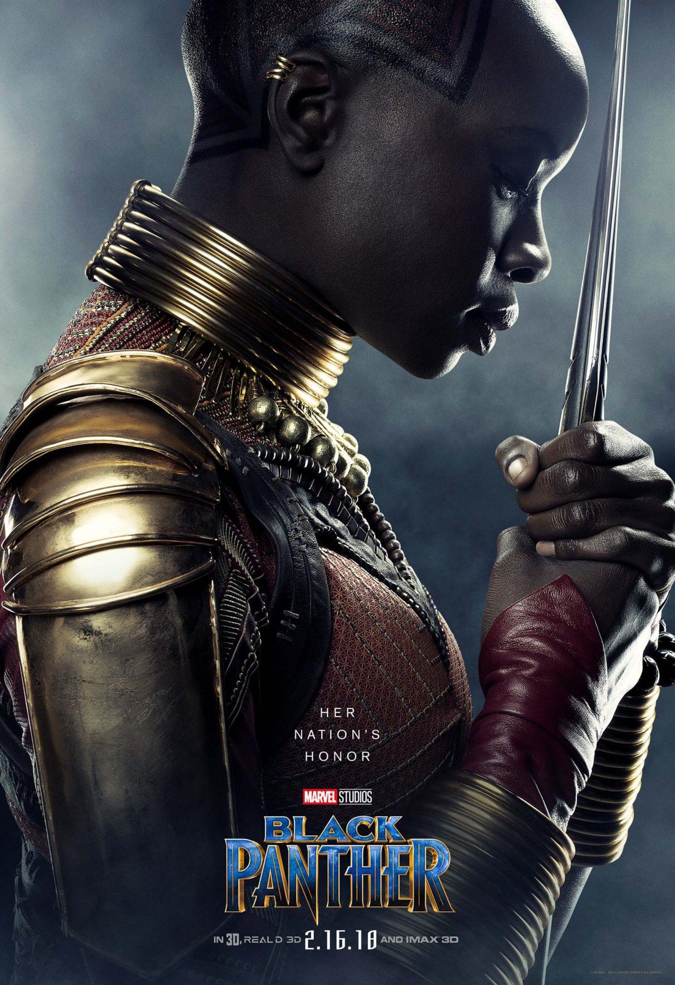 Black Panther character posterCR: Marvel Studios