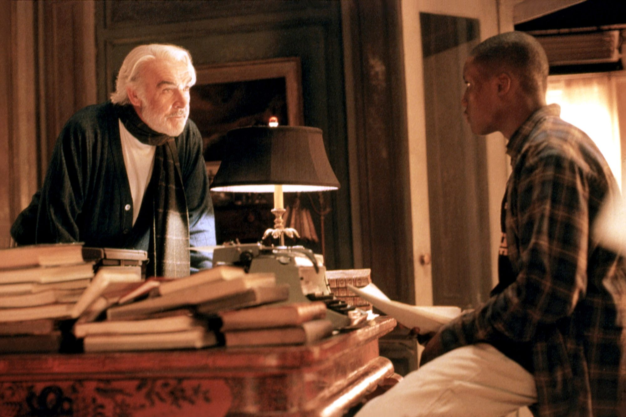 FINDING FORRESTER, Sean Connery, Robert Brown, 2000