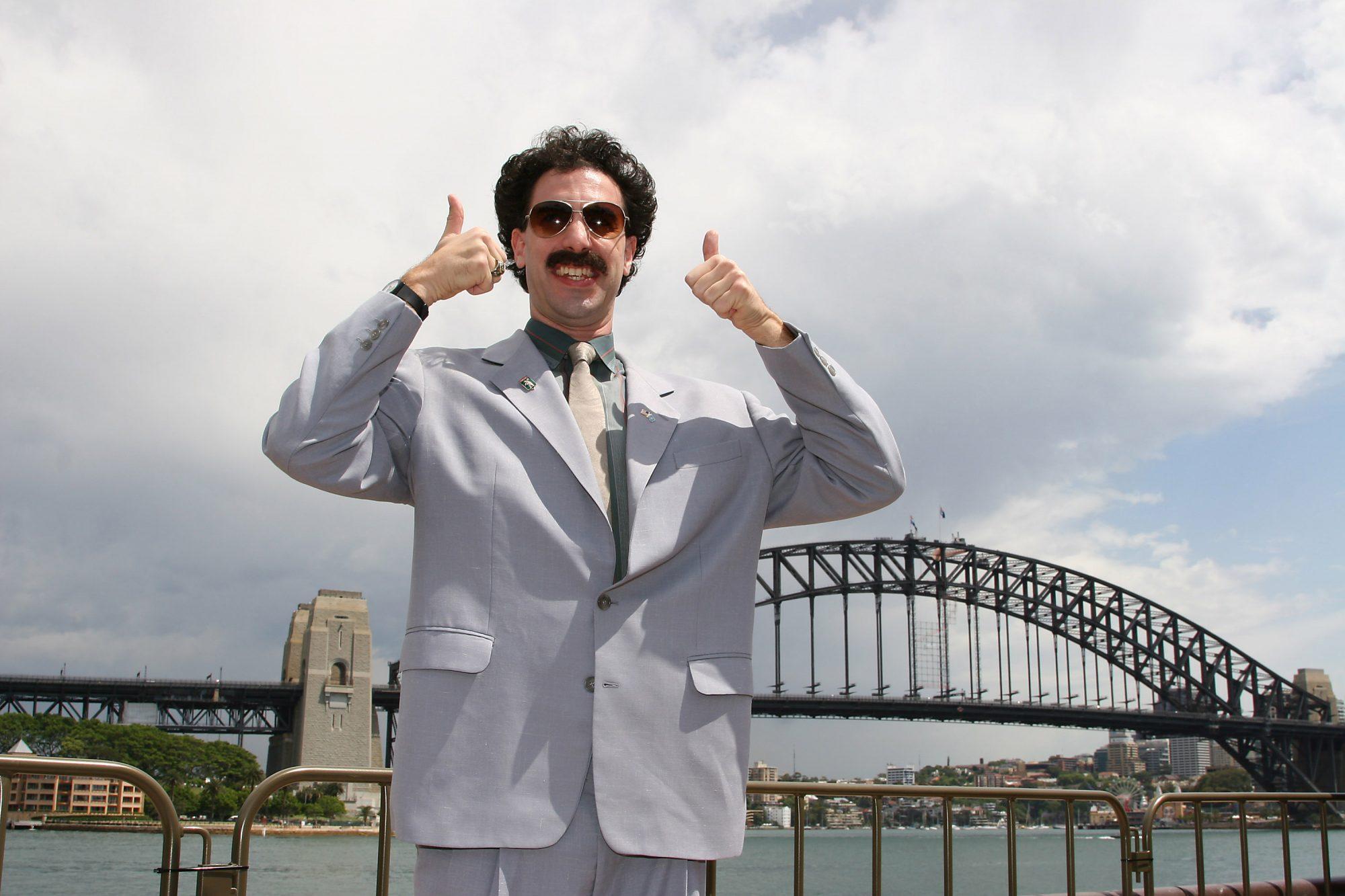 Borat Sydney Press Conference