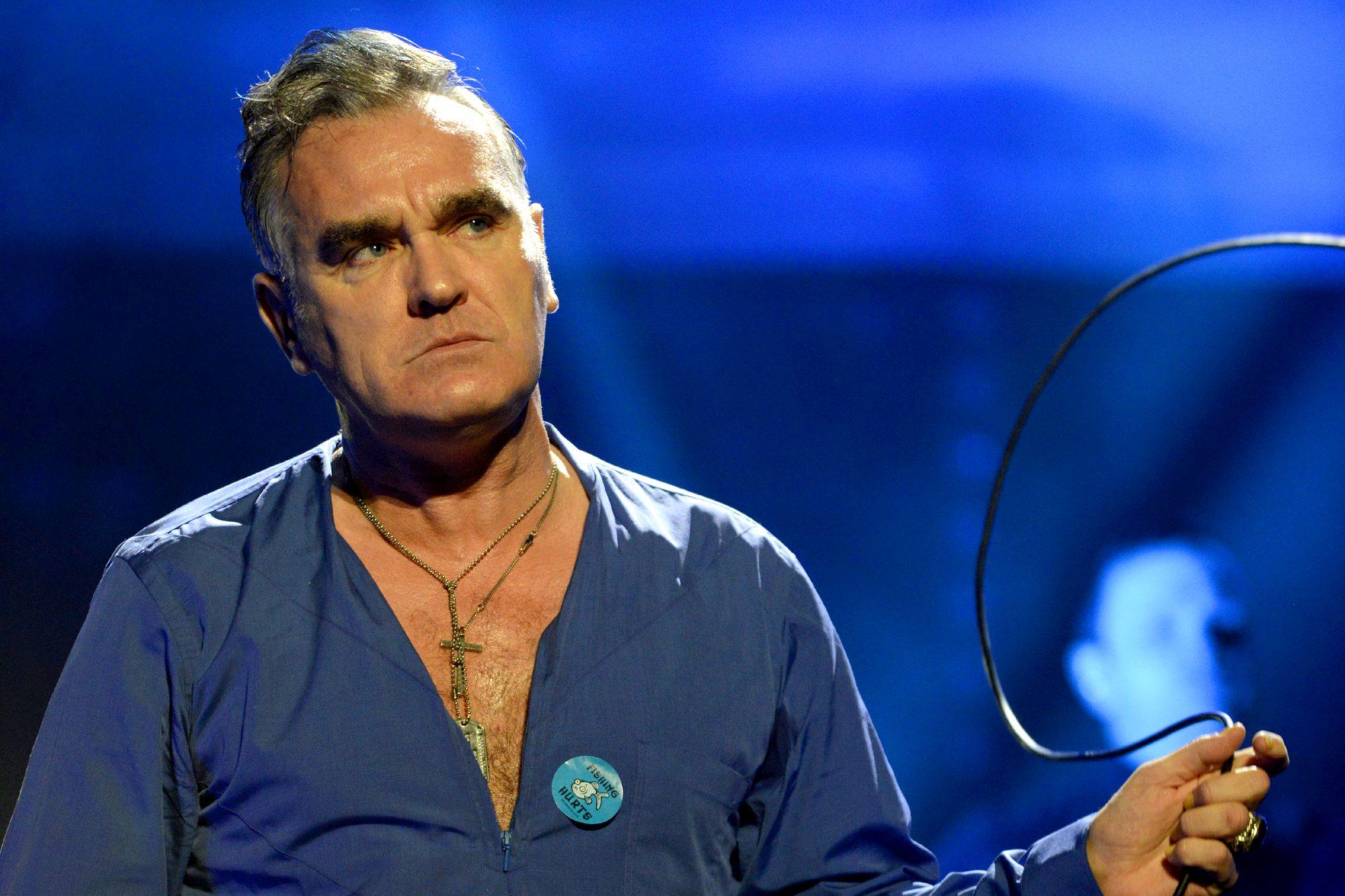 Morrissey In Concert - Davis, CA