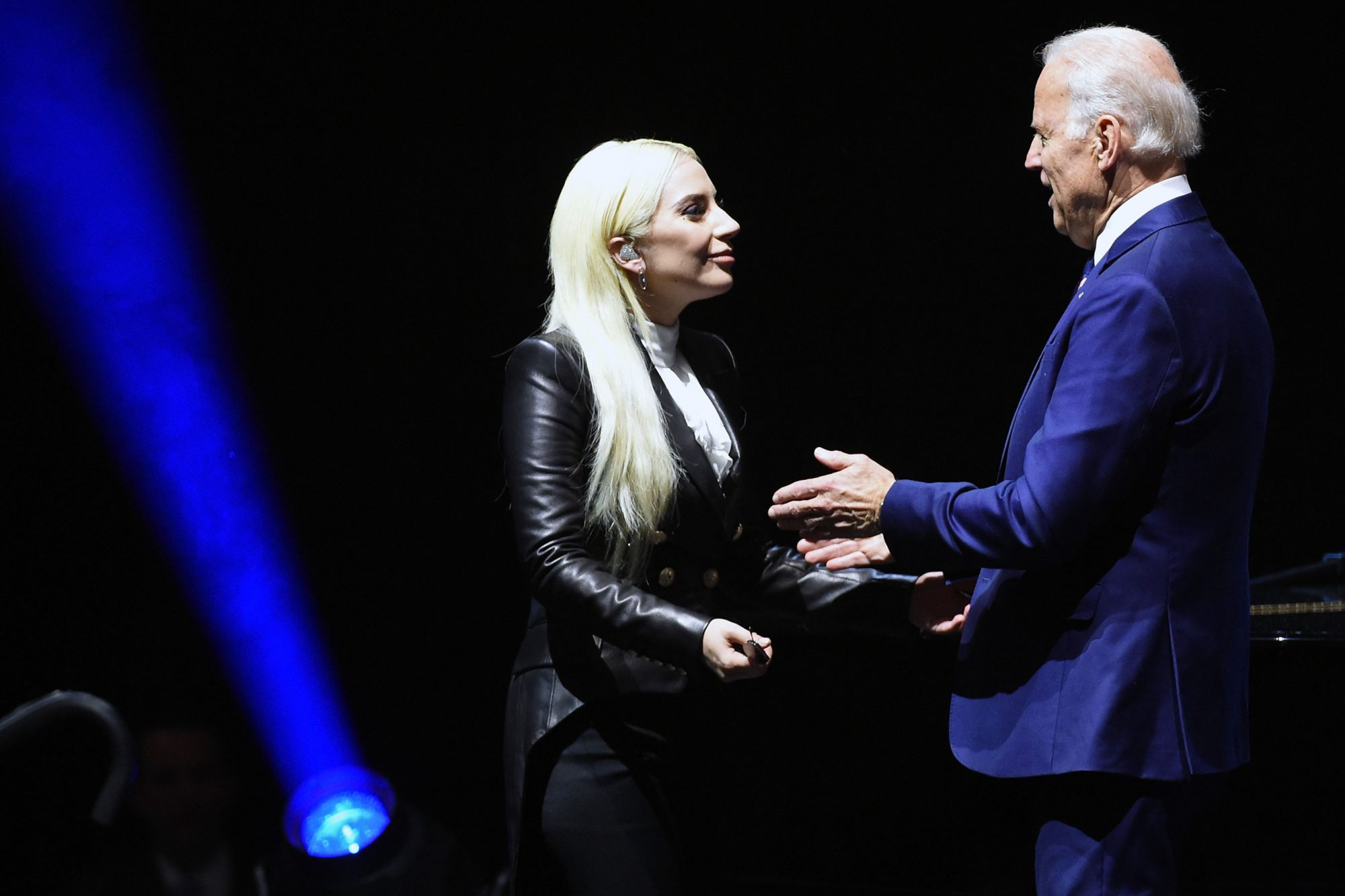 Joe Biden And Lady Gaga Visit UNLV In Support Of It's On Us Initiative