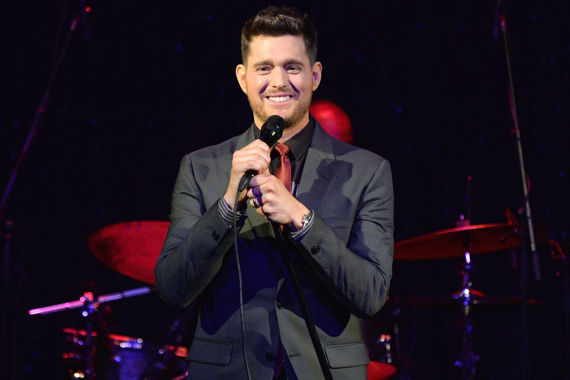 Michael Buble By Invitation Fragrance Launch