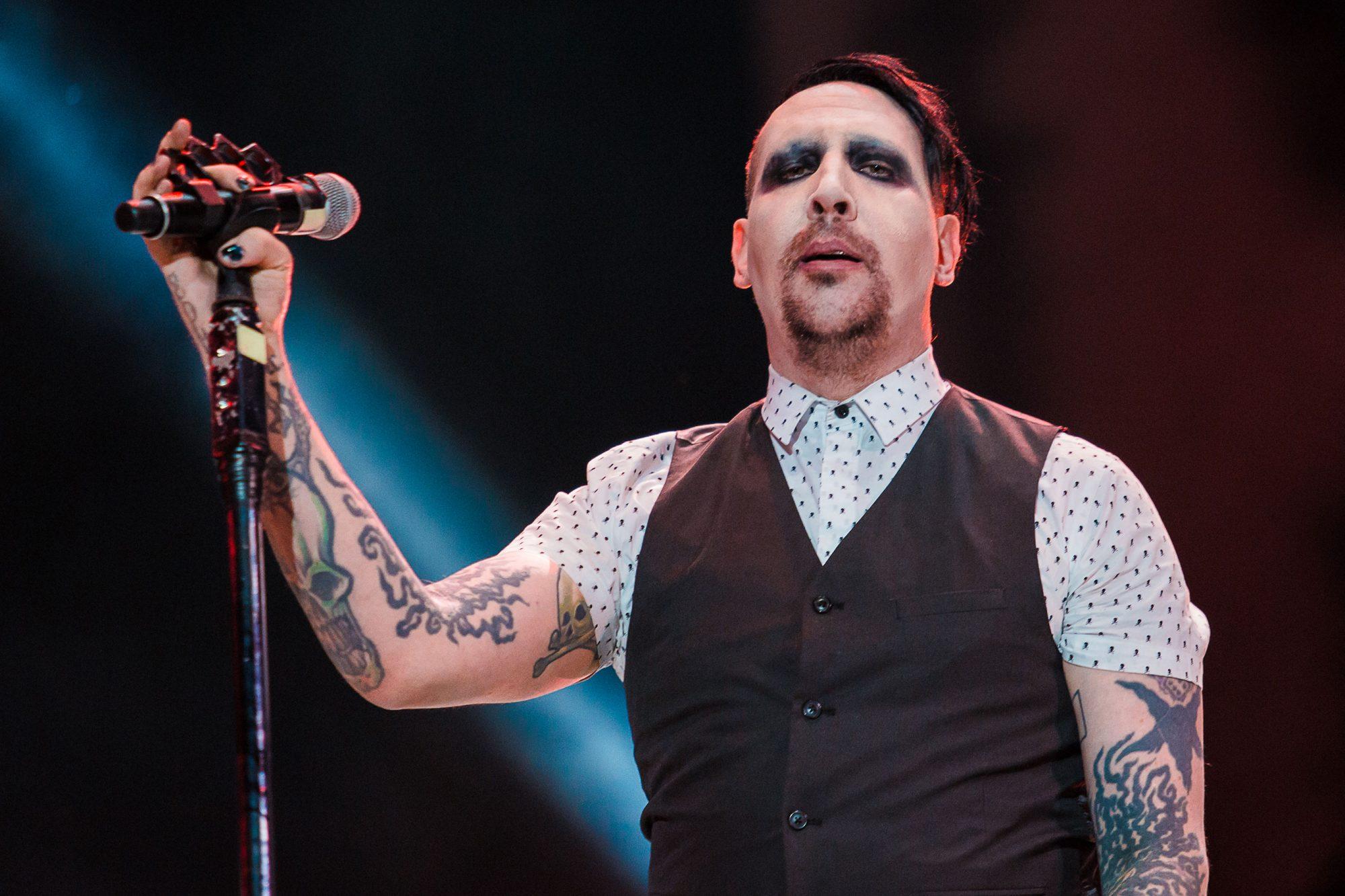 Maximus Festival Brazil - Marilyn Manson Concert