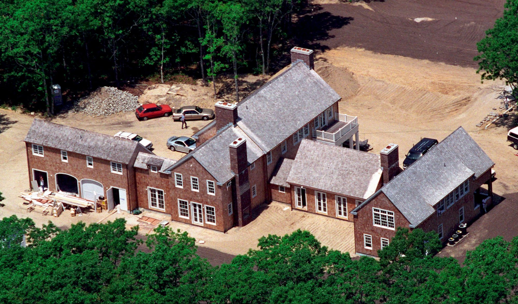(AERIAL FEATURE 14 OF 23) Celebrity Homes