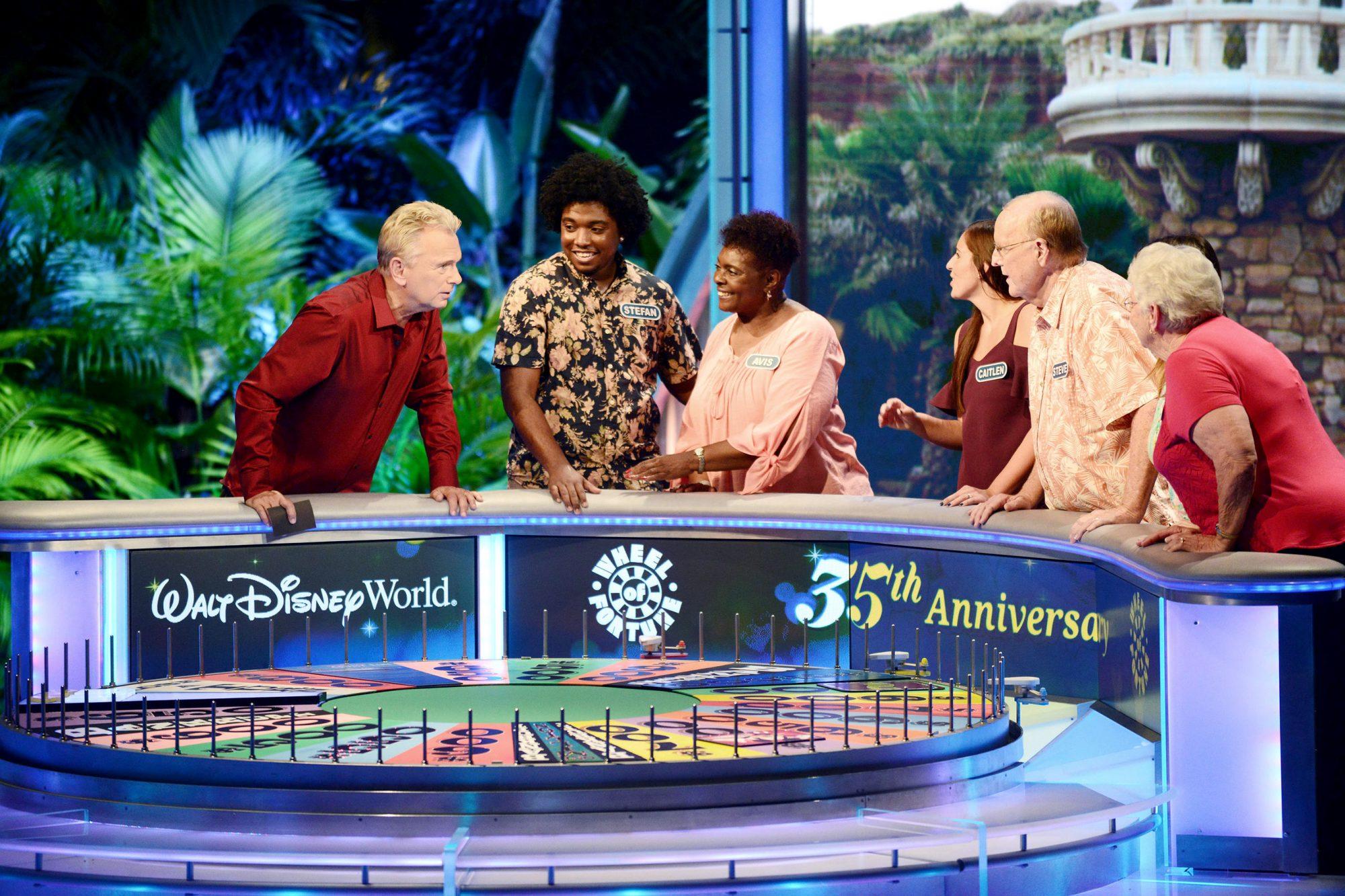 """Wheel Of Fortune"" Celebrates 35th Anniversary Of Disney's Epcot Center"