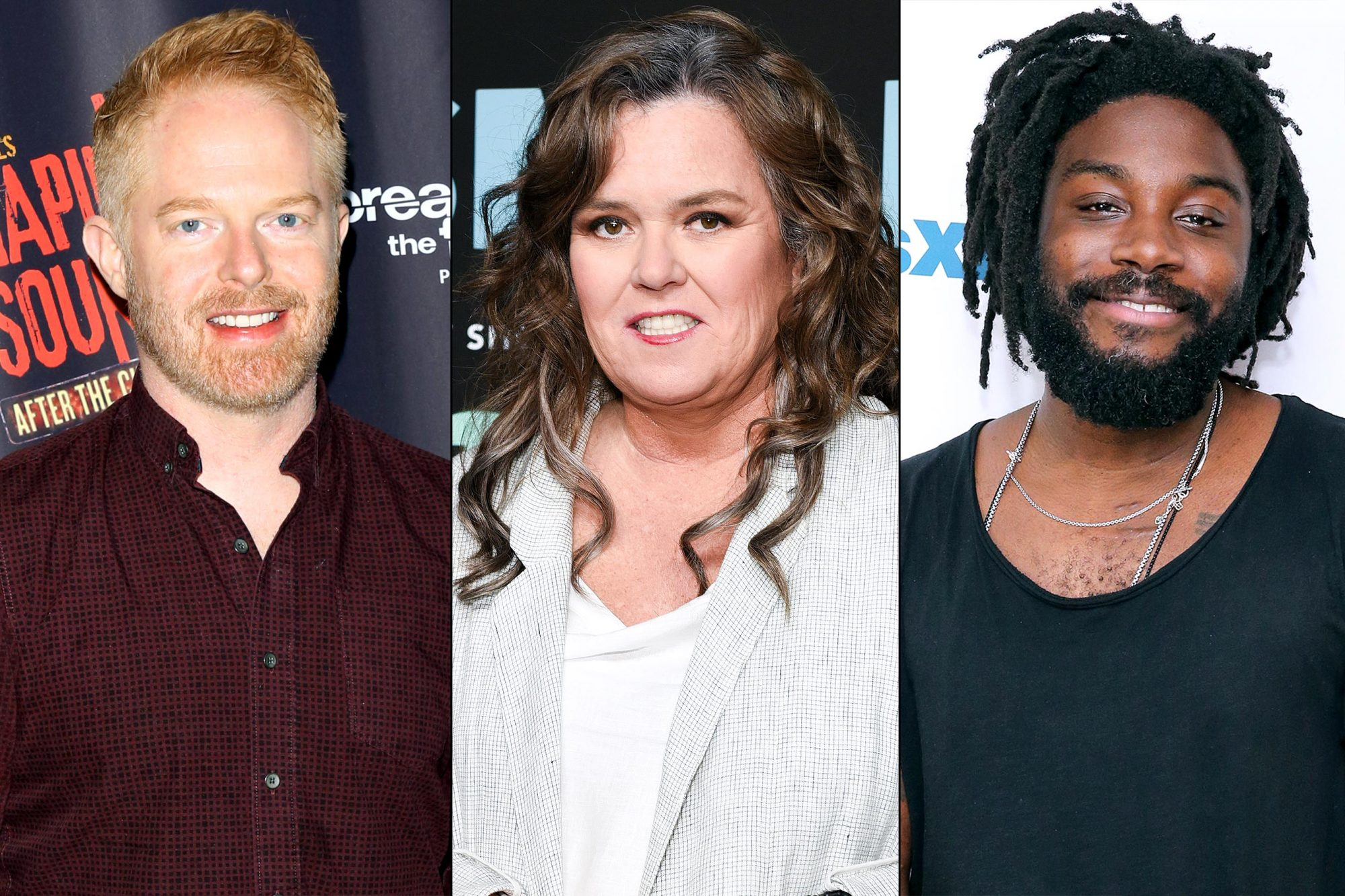 Jesse Tyler Ferguson / Rosie O'Donnell / Jason Reynolds
