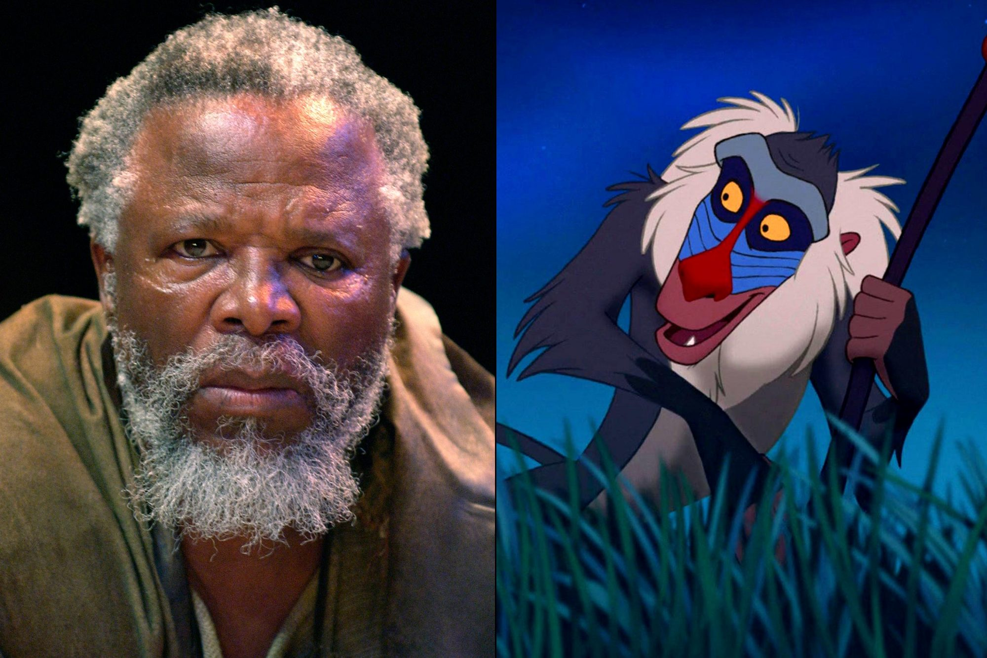 John Kani as Rafiki