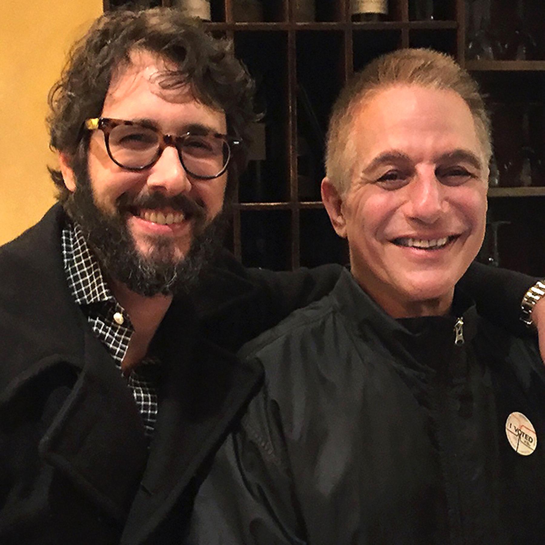 Josh Groban and Tony Danza