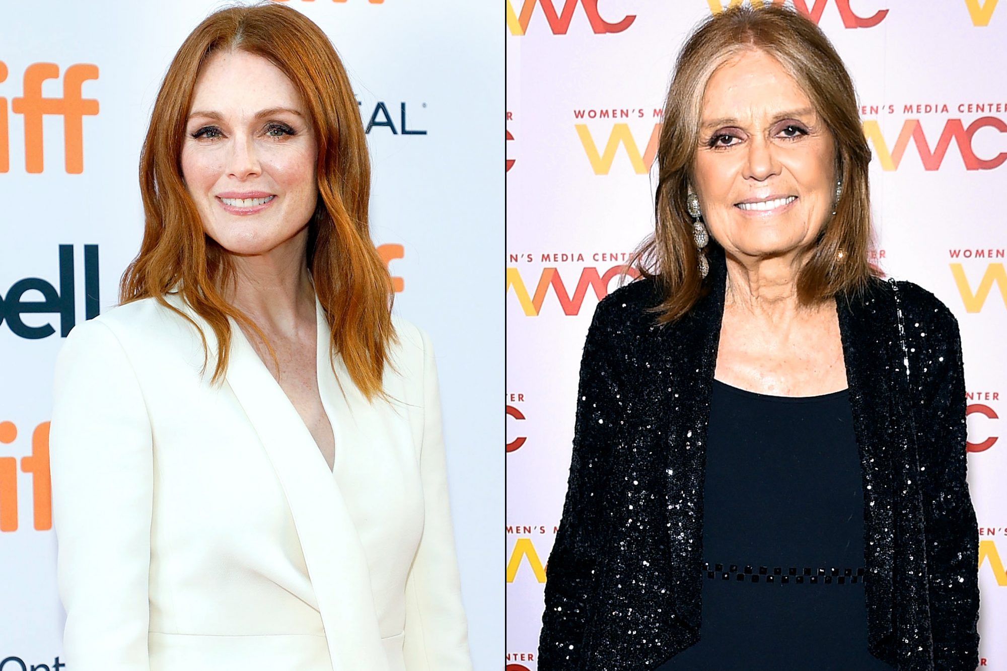 Julianne Moore / Gloria Steinem
