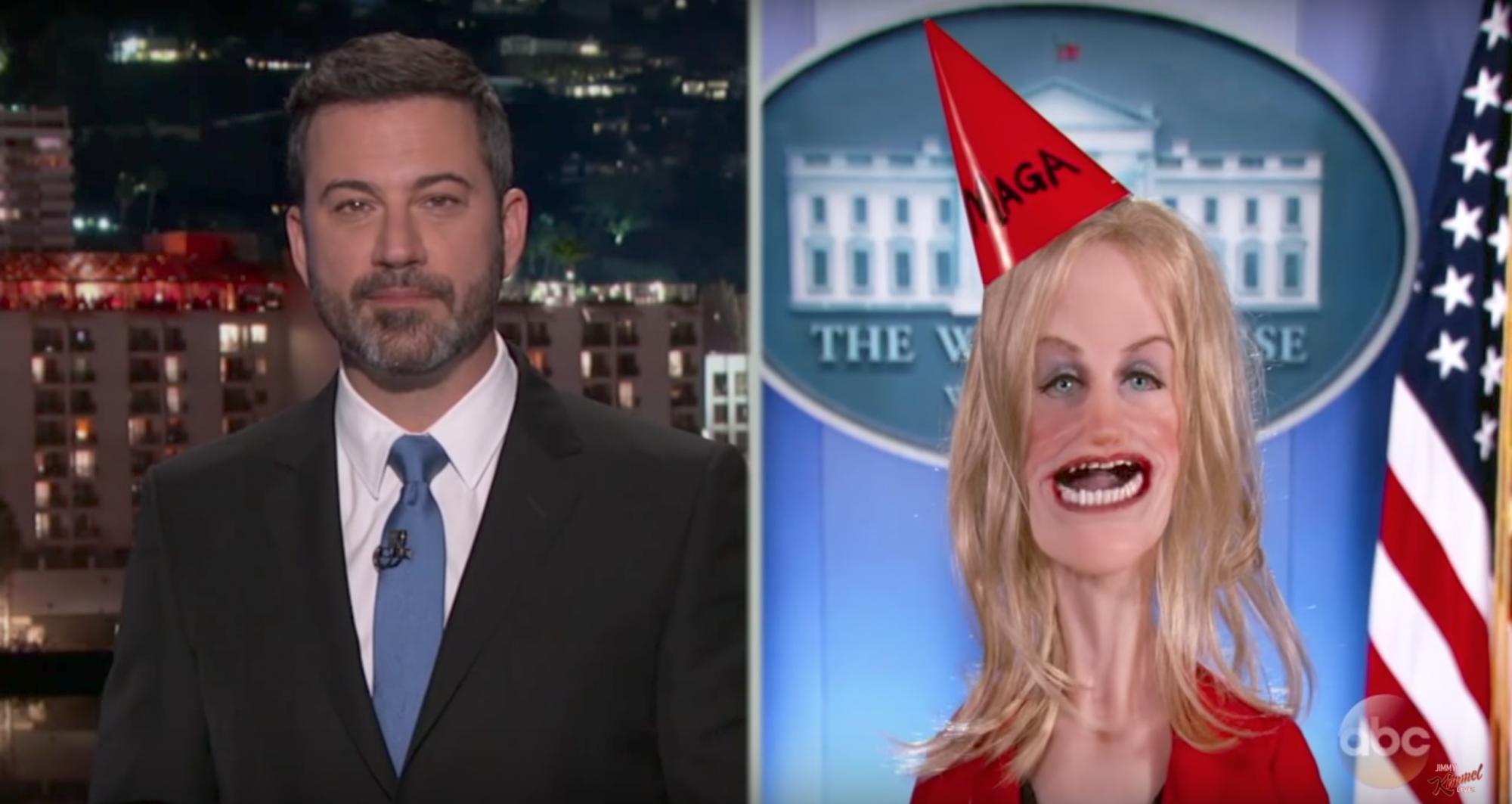 Kimmel-puppetKellyanne