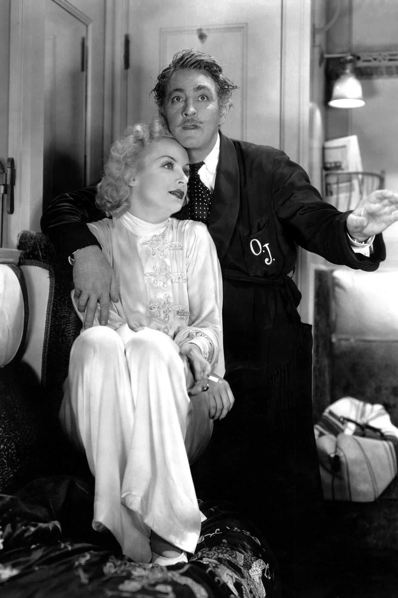 TWENTIETH CENTURY, Carole Lombard, John Barrymore, 1934.