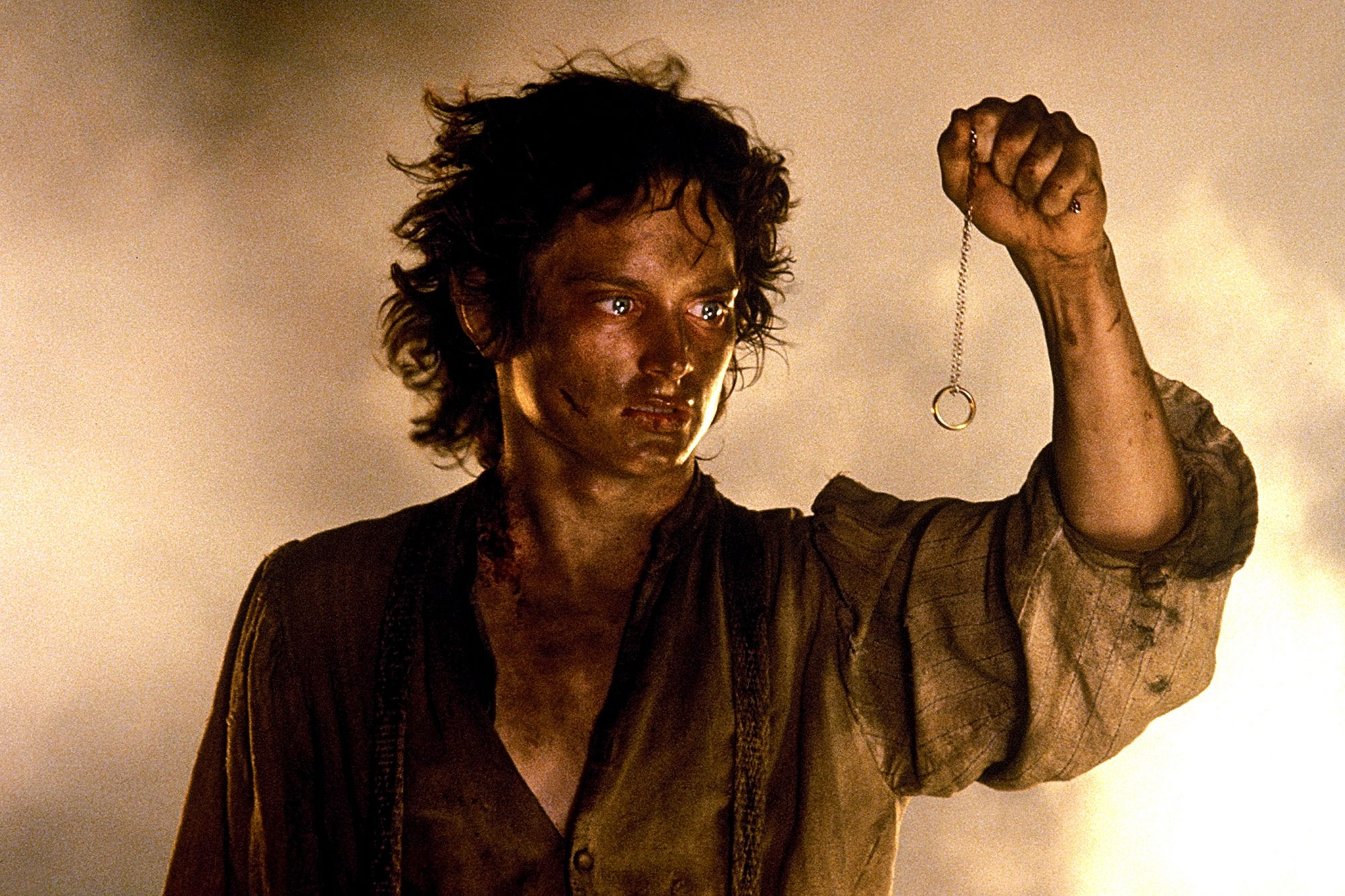 THE LORD OF THE RINGS: THE RETURN OF THE KING, Elijah Wood, 2003, (c) New Line/courtesy Everett Coll